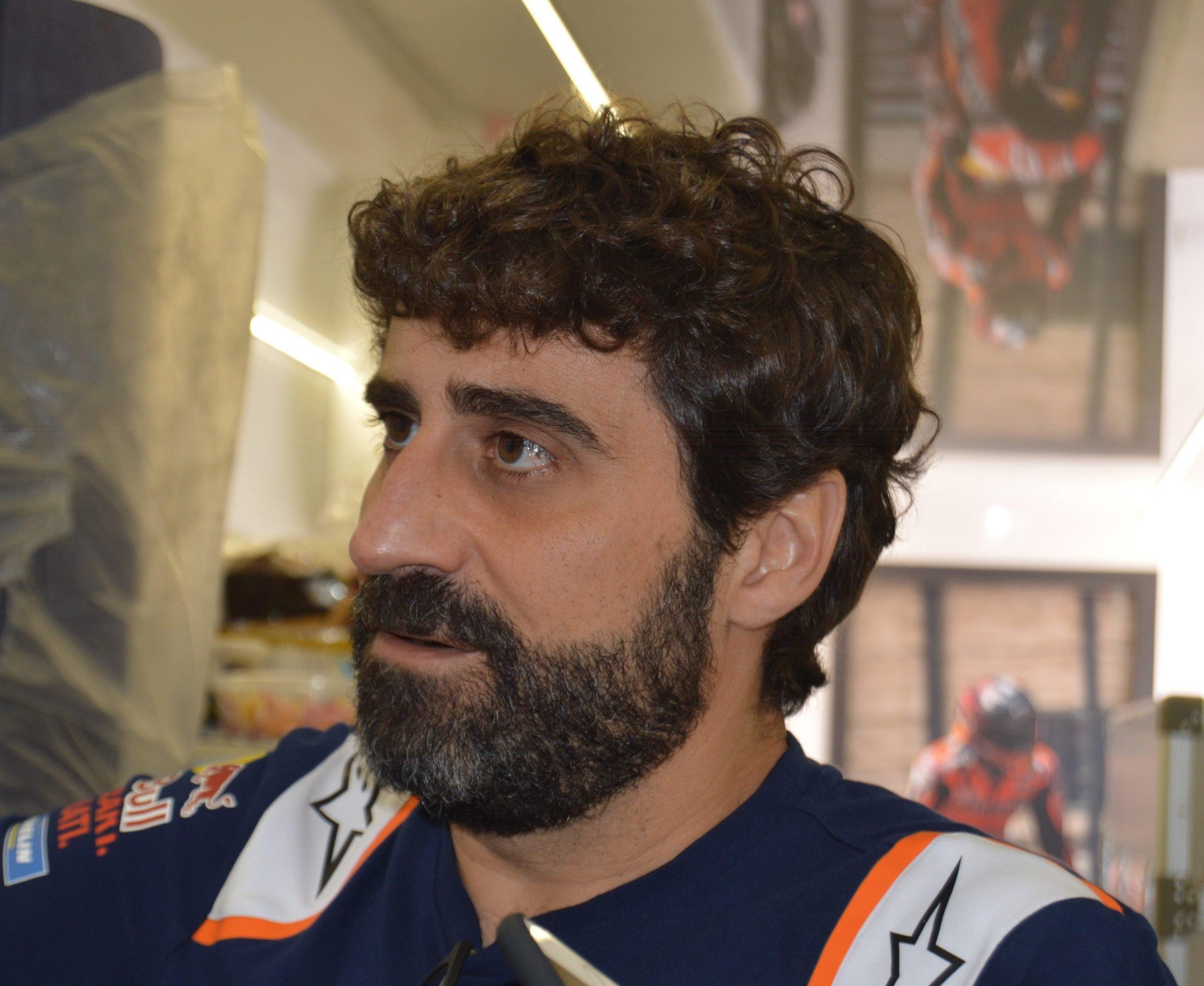 Entrevista con Santi Hernández. Lo que le lleva a MotoGP, la moto, sus rivales y su futuro.