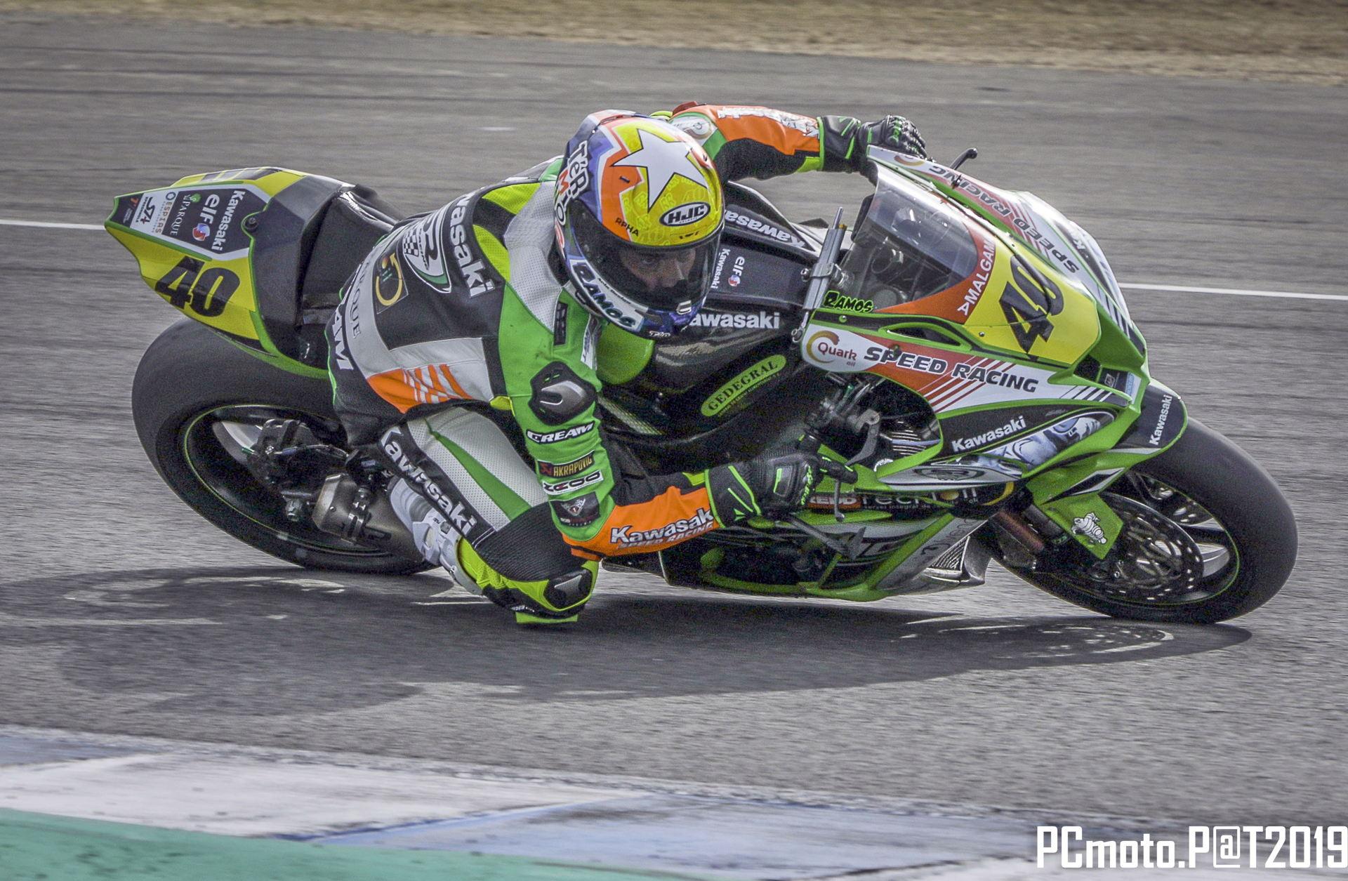 Román Ramos finaliza 6º el Campeonato de España de Superbike