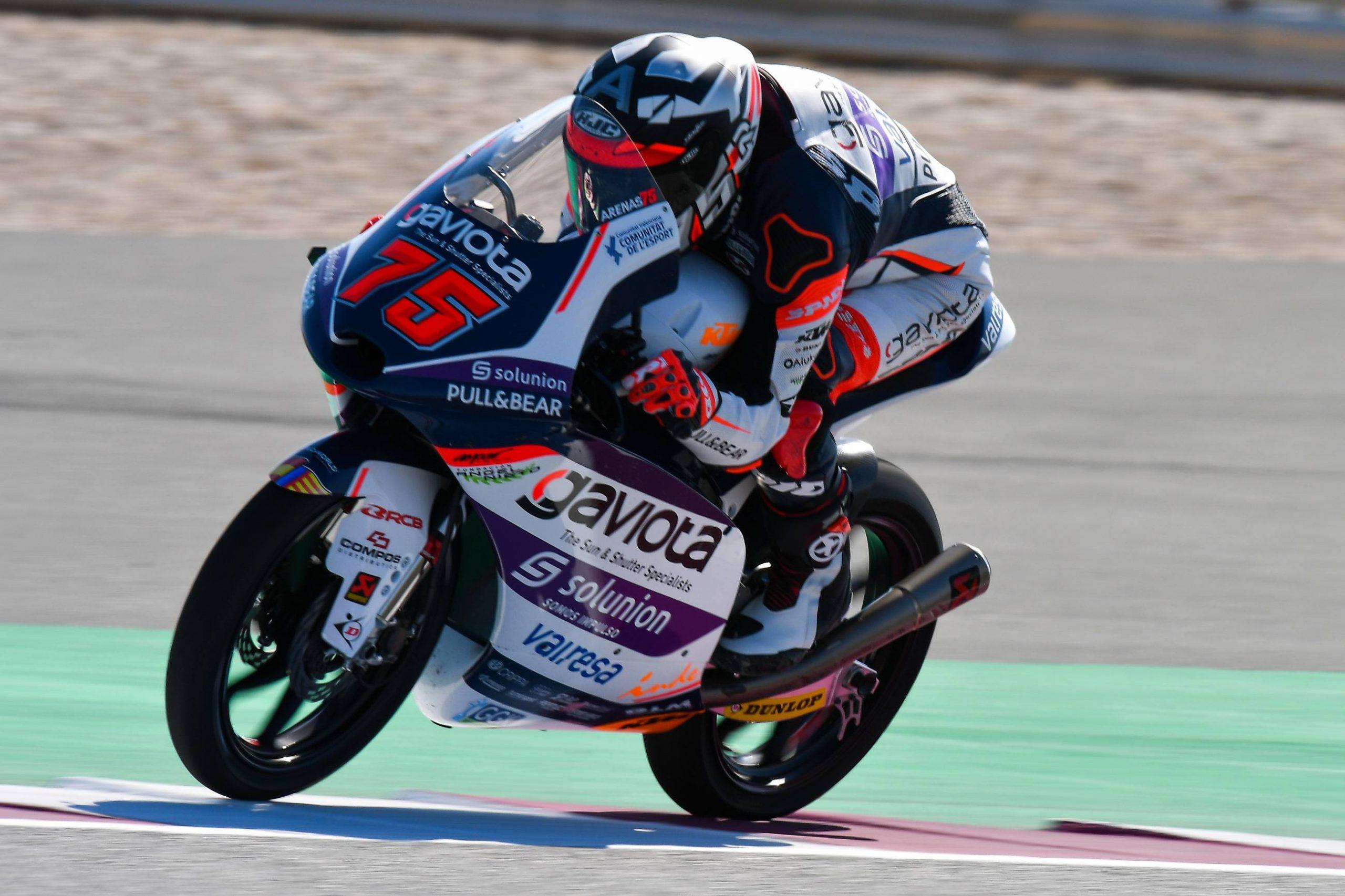 Albert Arenas triunfa en una emocionante carrera de Moto3 Catar