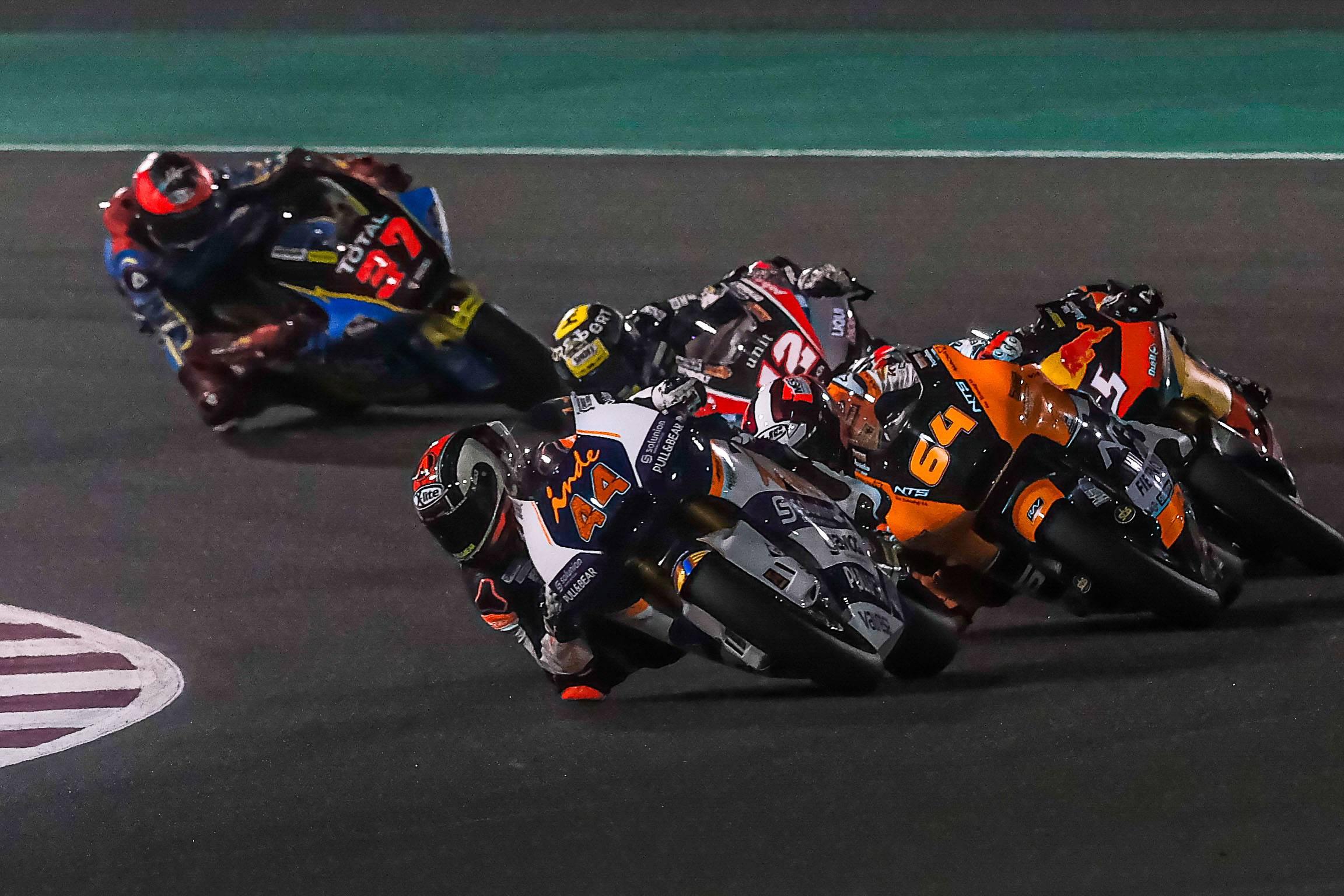 Los test de Moto2 y Moto3 se trasladan a Catar