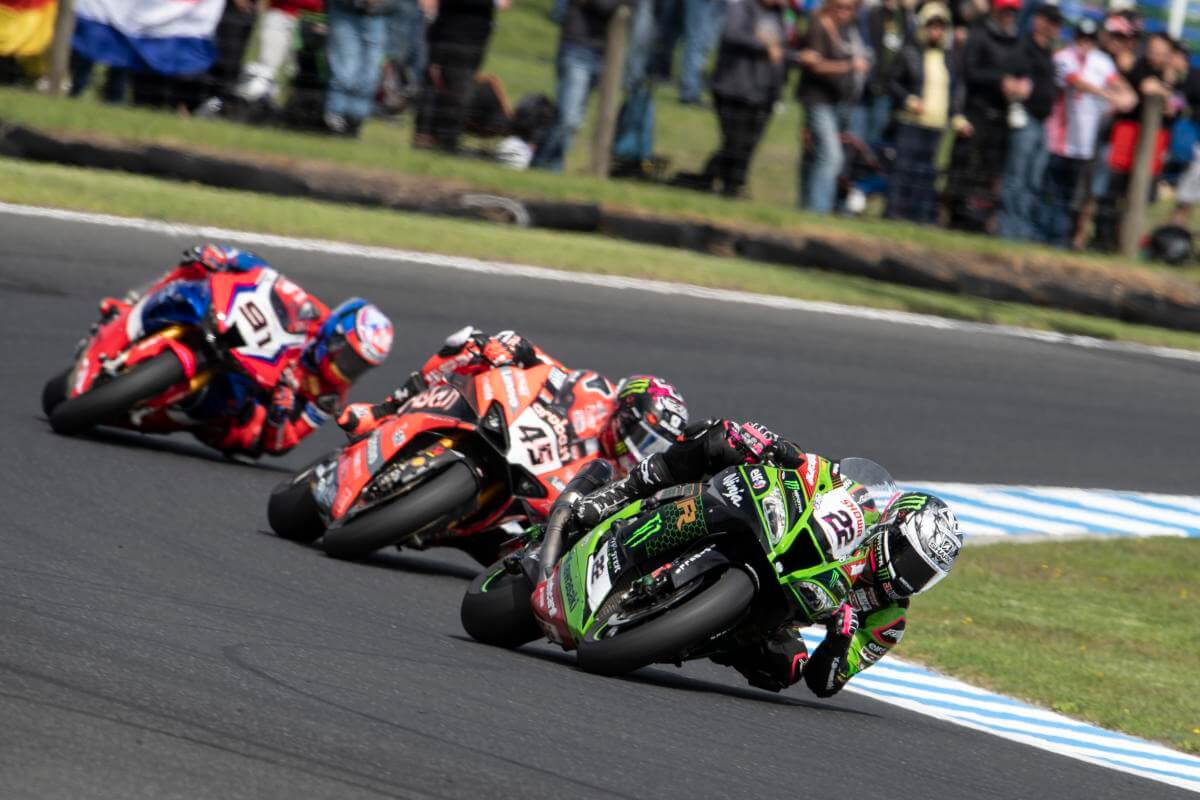 Alex Lowes en Phillip Island