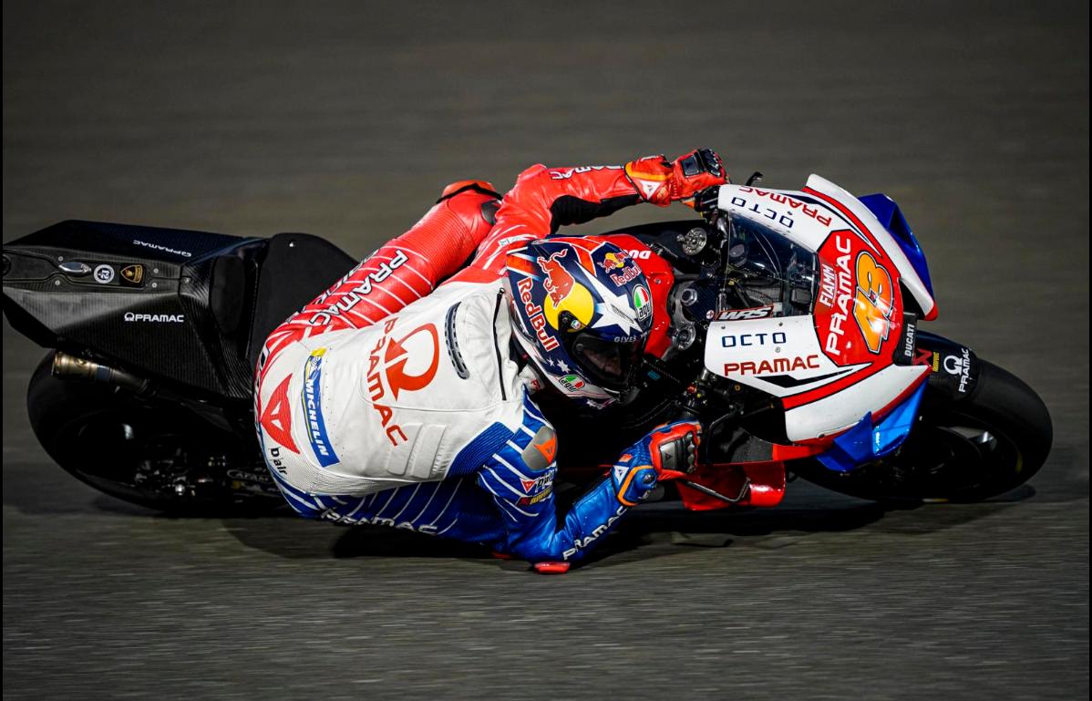 La brújula de Ducati