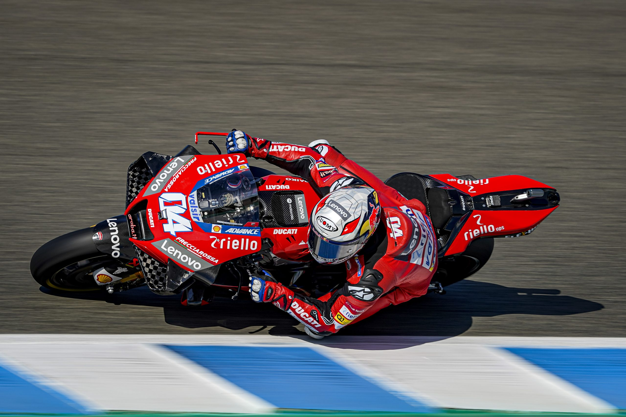 """Dovizioso: """"Que la moto gire mejor es gracias a los neumáticos"""""""