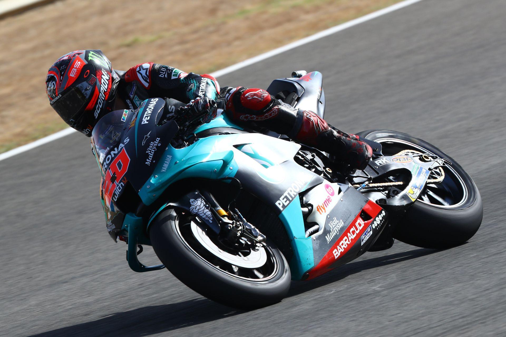 Fabio Quartararo se hace con una emocionante pole en Jerez