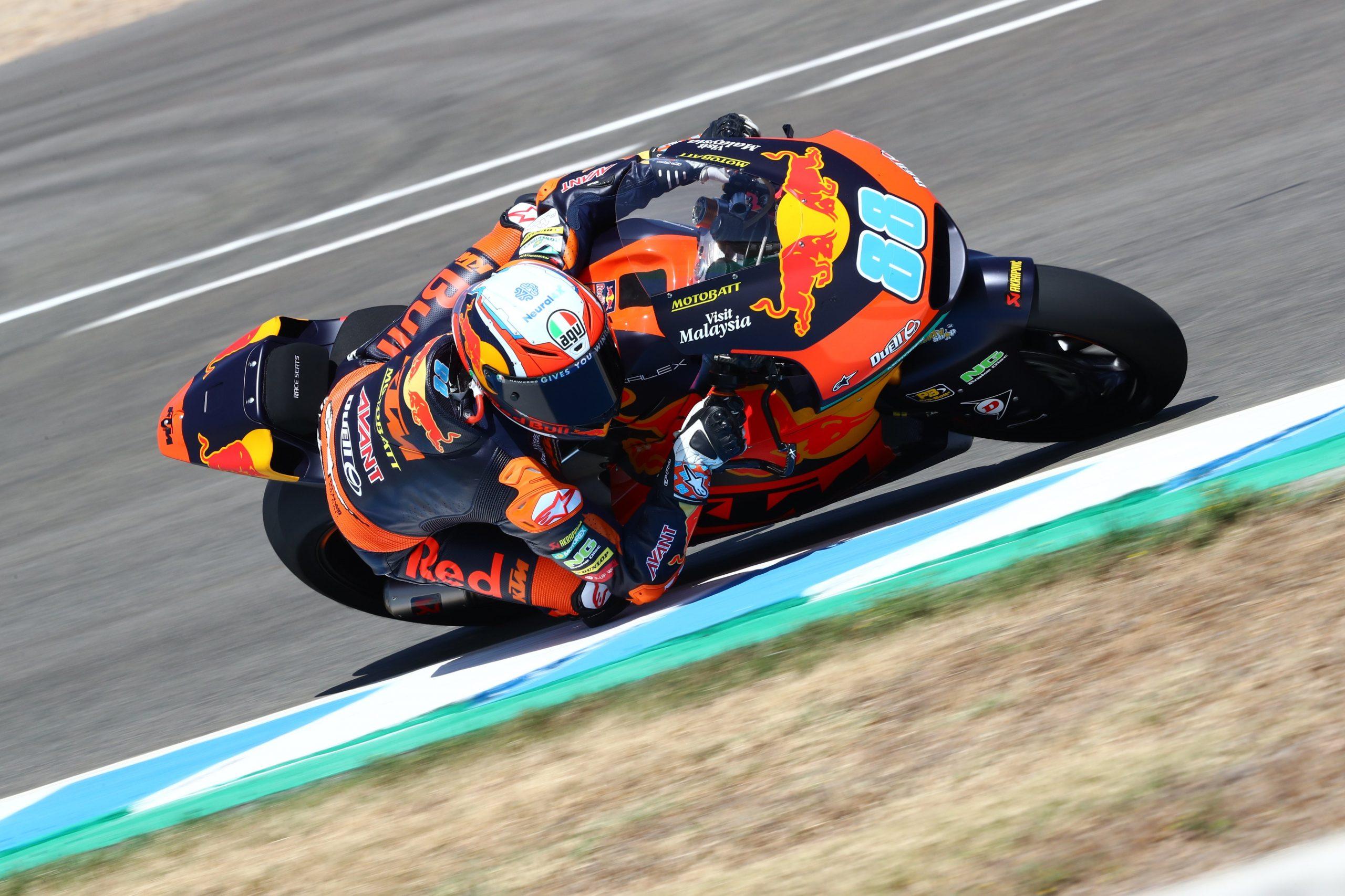 Jorge Martín se hace con su primera pole de Moto2 en Jerez