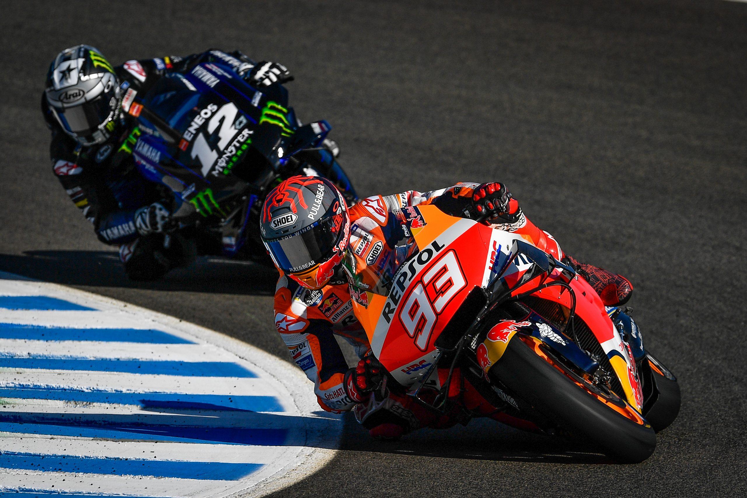 Marc Márquez señala a Yamaha y Suzuki y explica el híbrido de HRC en 2020