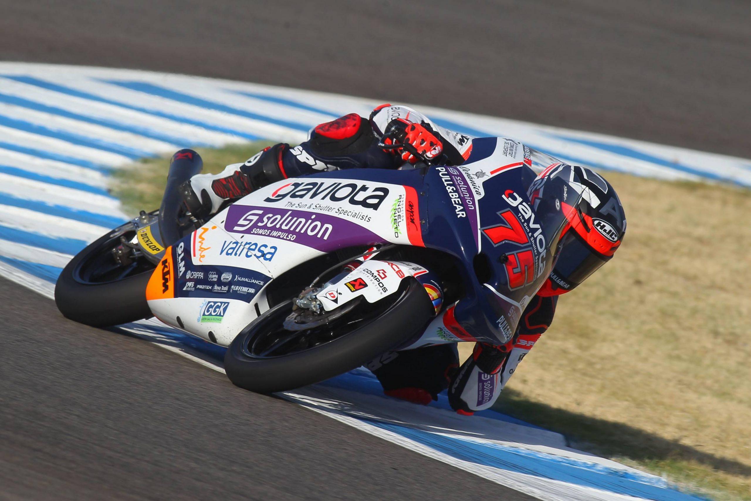 Albert Arenas vence una complicada carrera en grupo en Jerez