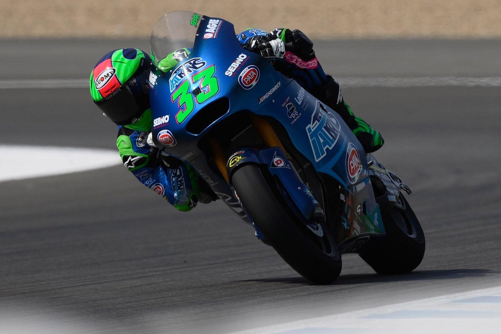 Enea Bastianini domina y consigue su primera victoria de Moto2 en Jerez
