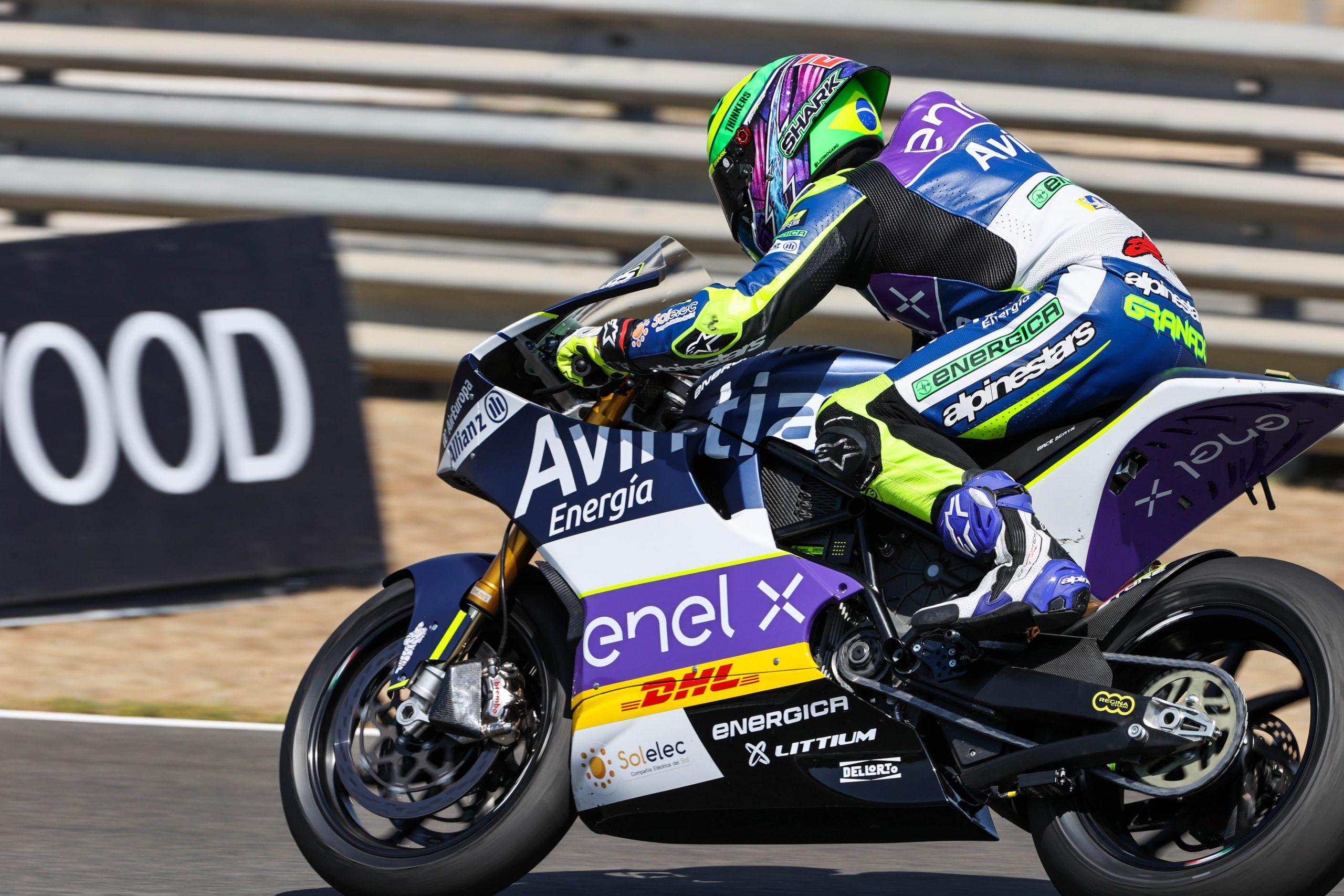 Eric Granado abre MotoE 2020 venciendo con contundencia en Jerez