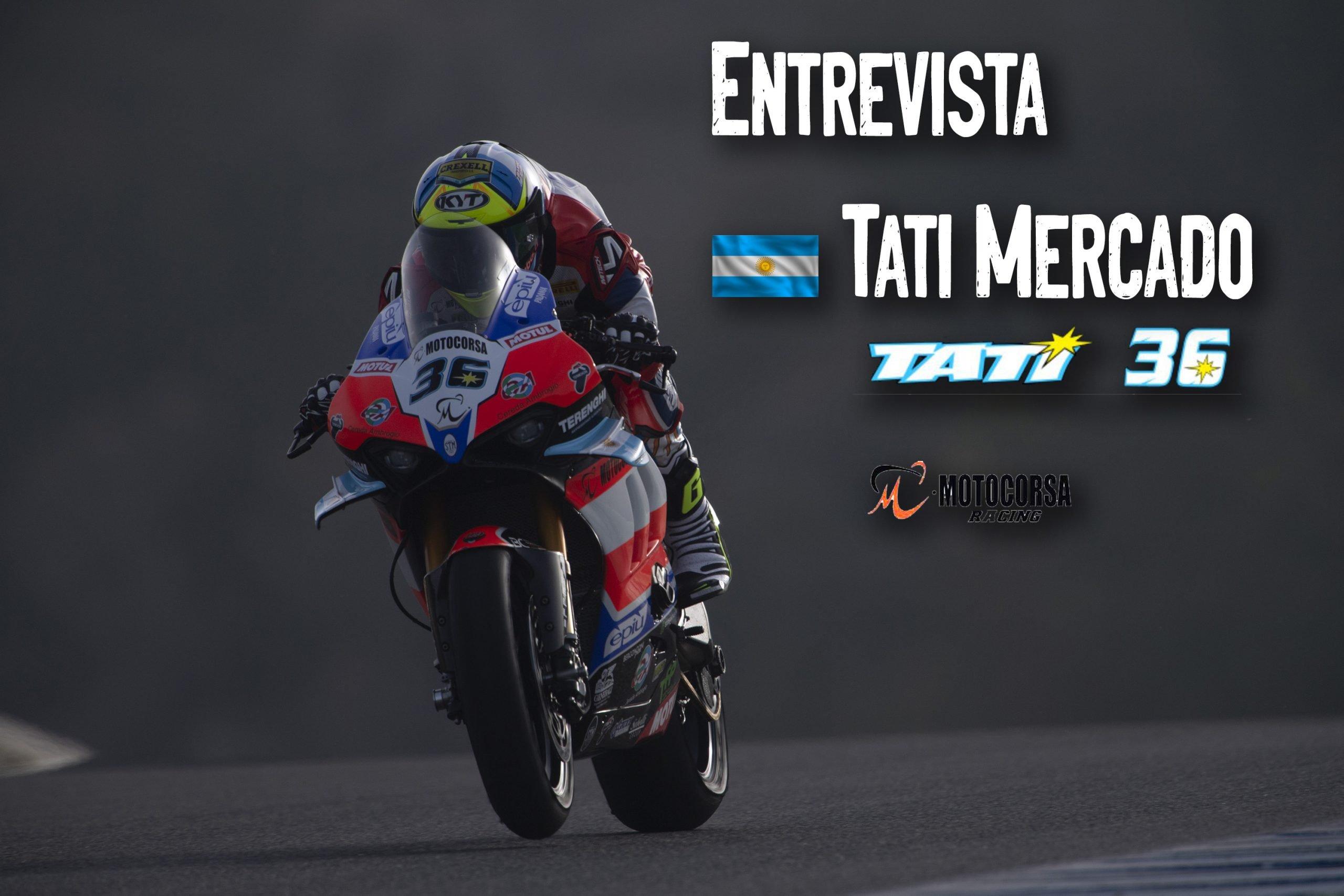 Entrevista a Tati Mercado – WorldSBK