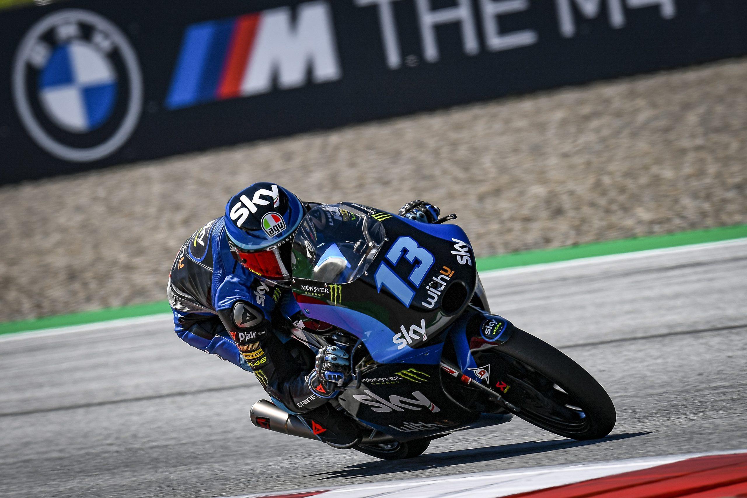 Celestino Vietti se estrena con su victoria en el GP de Styria