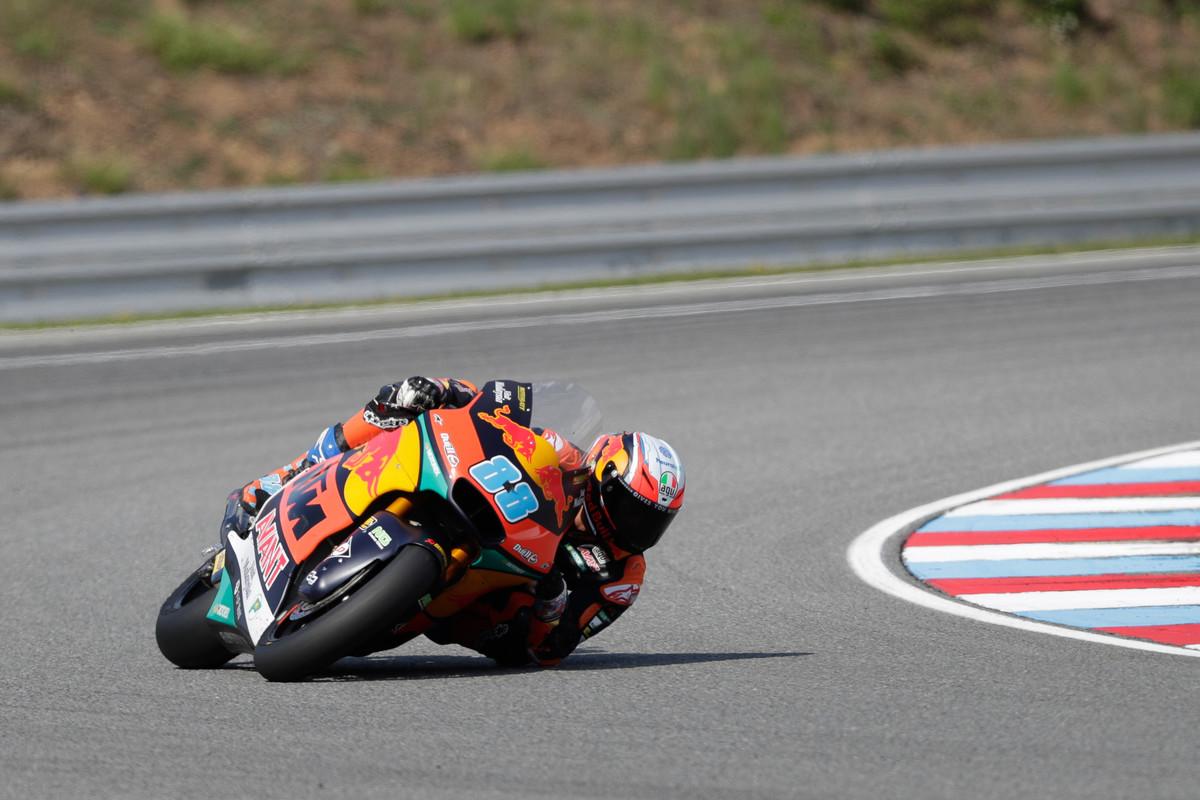 Jorge Martín se escapa y consigue en Austria su primera victoria de Moto2