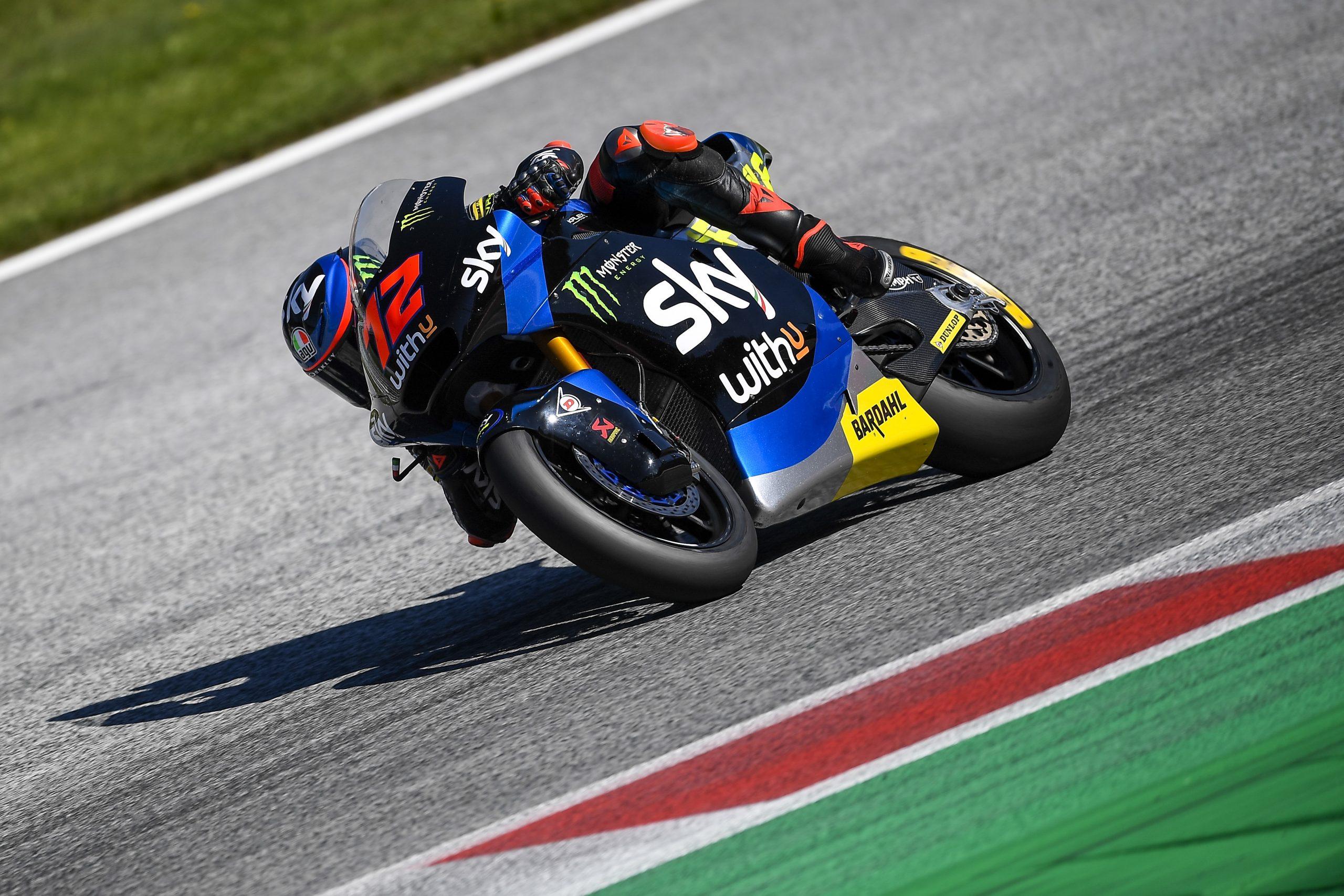Marco Bezzeccchi se estrena en Moto2 tras la penalización a Jorge Martín
