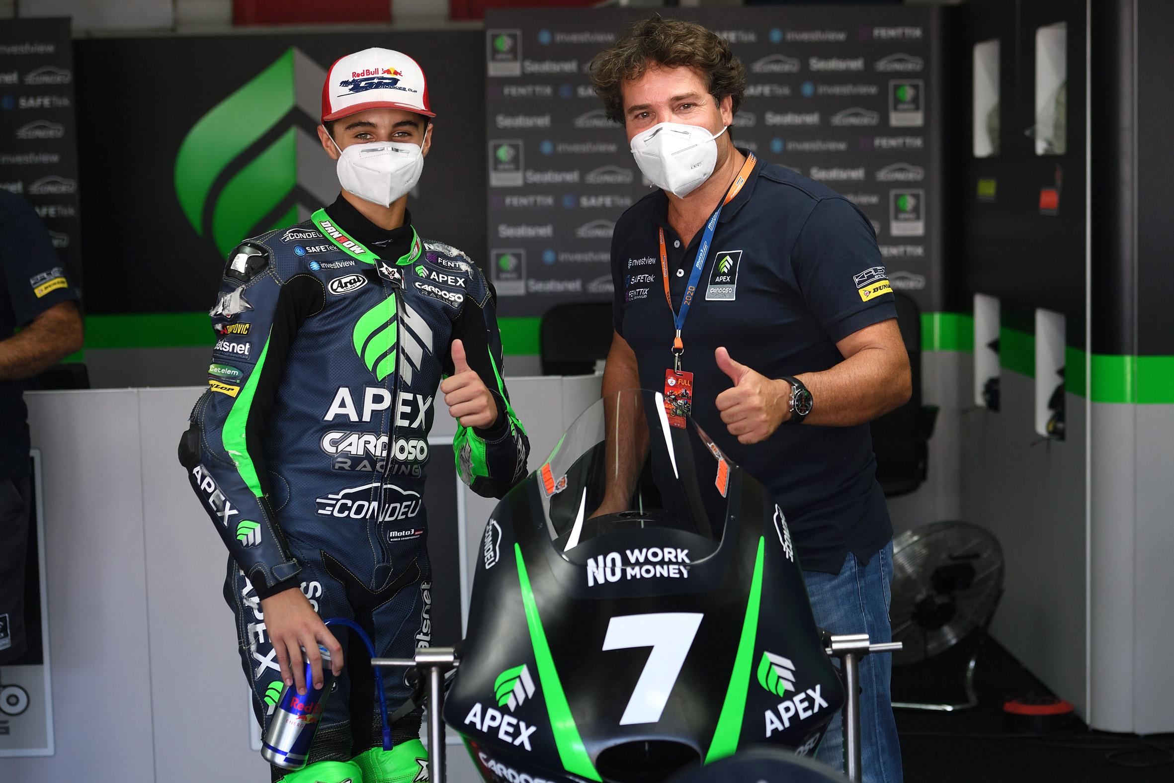 FIM CEV: Montella, Muñoz y Vd Goorbergh, pole en Jerez.