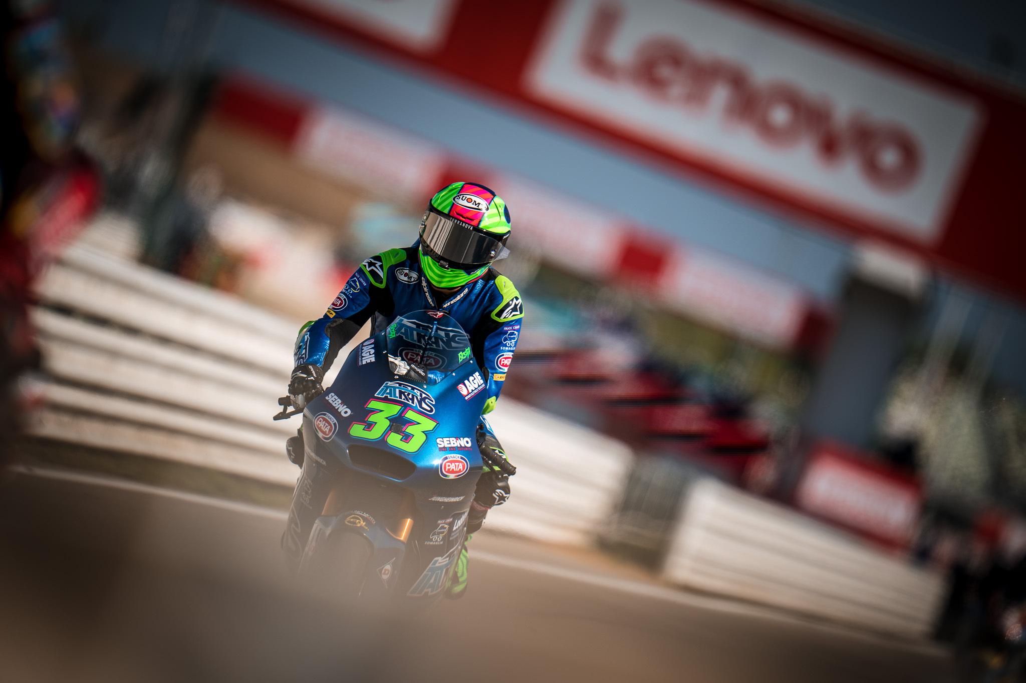 Enea Bastianini, con Ducati en MotoGP en 2021