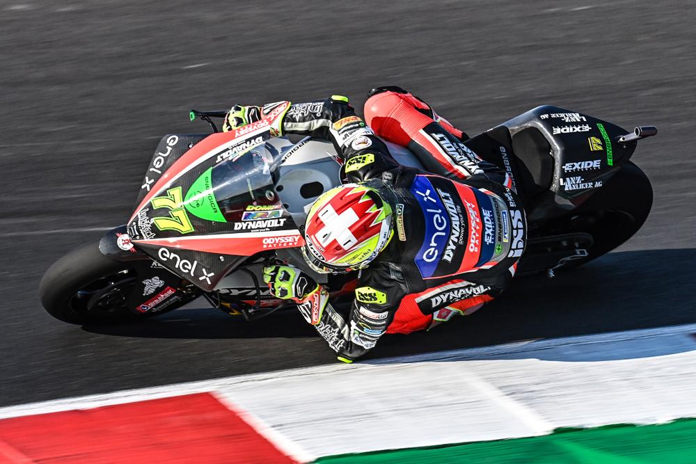 Apretada victoria para Dominique Aegerter en la carrera de MotoE en Misano