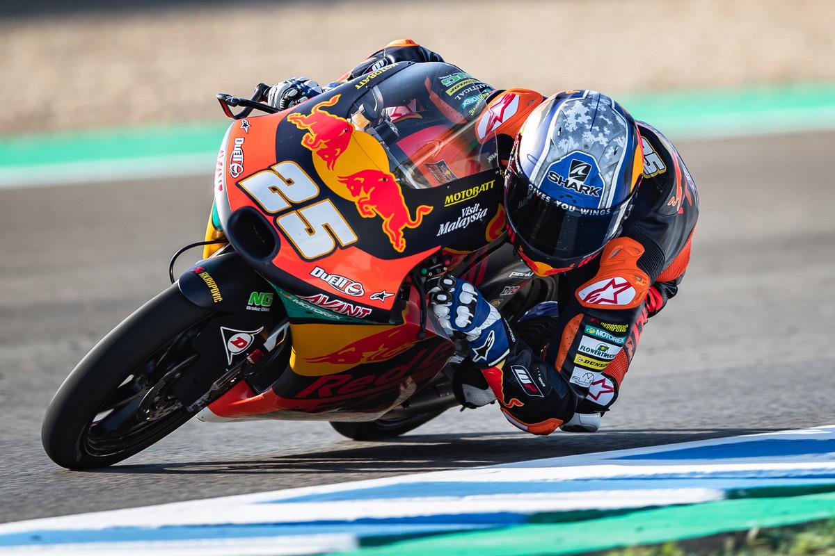 Raúl Fernández se hace con su tercera pole de Moto3 en Misano