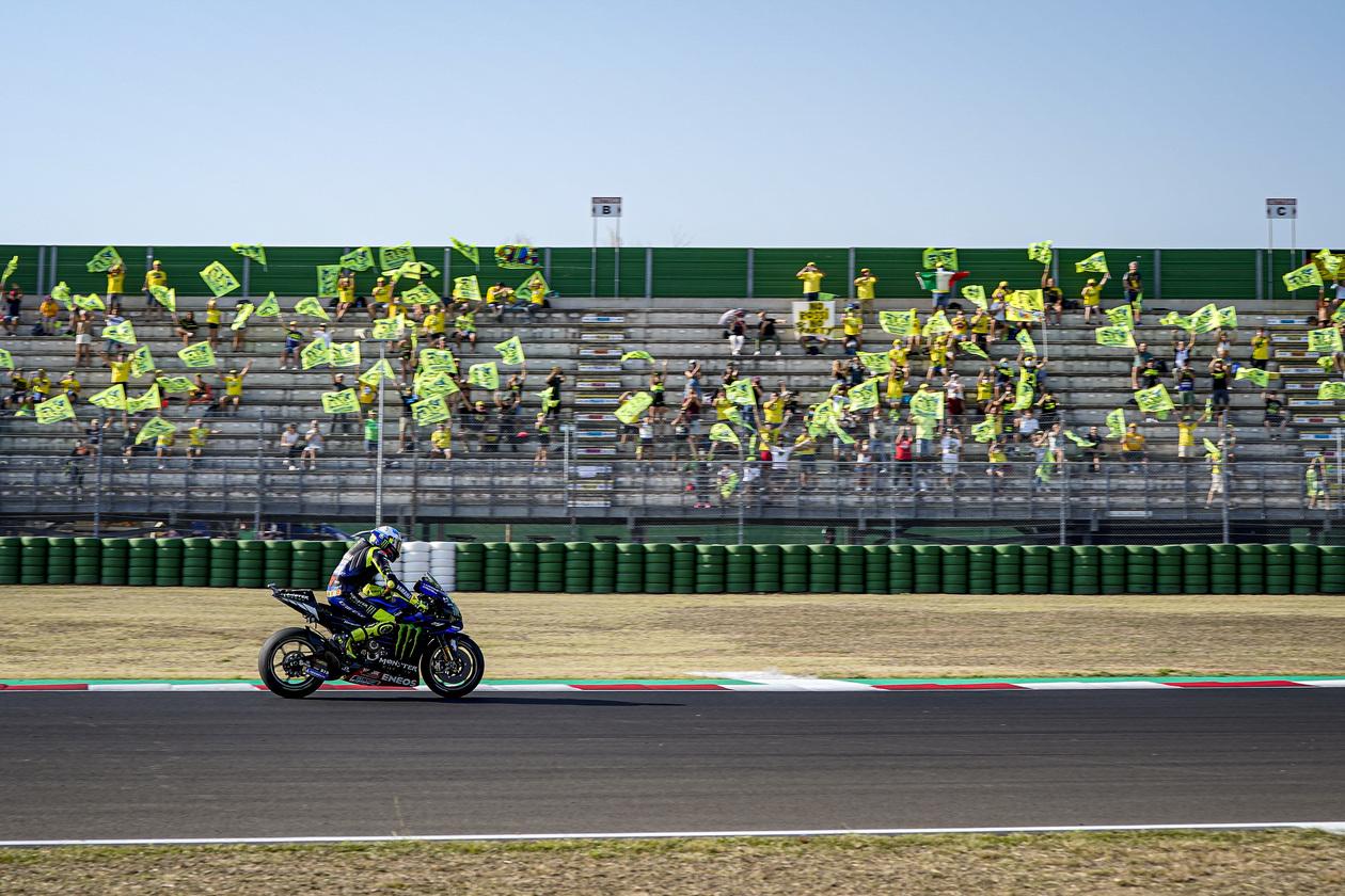 Valentino Rossi empieza a mirar al título