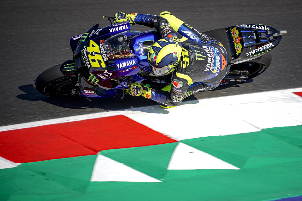 Valentino Rossi en busca de 3 décimas