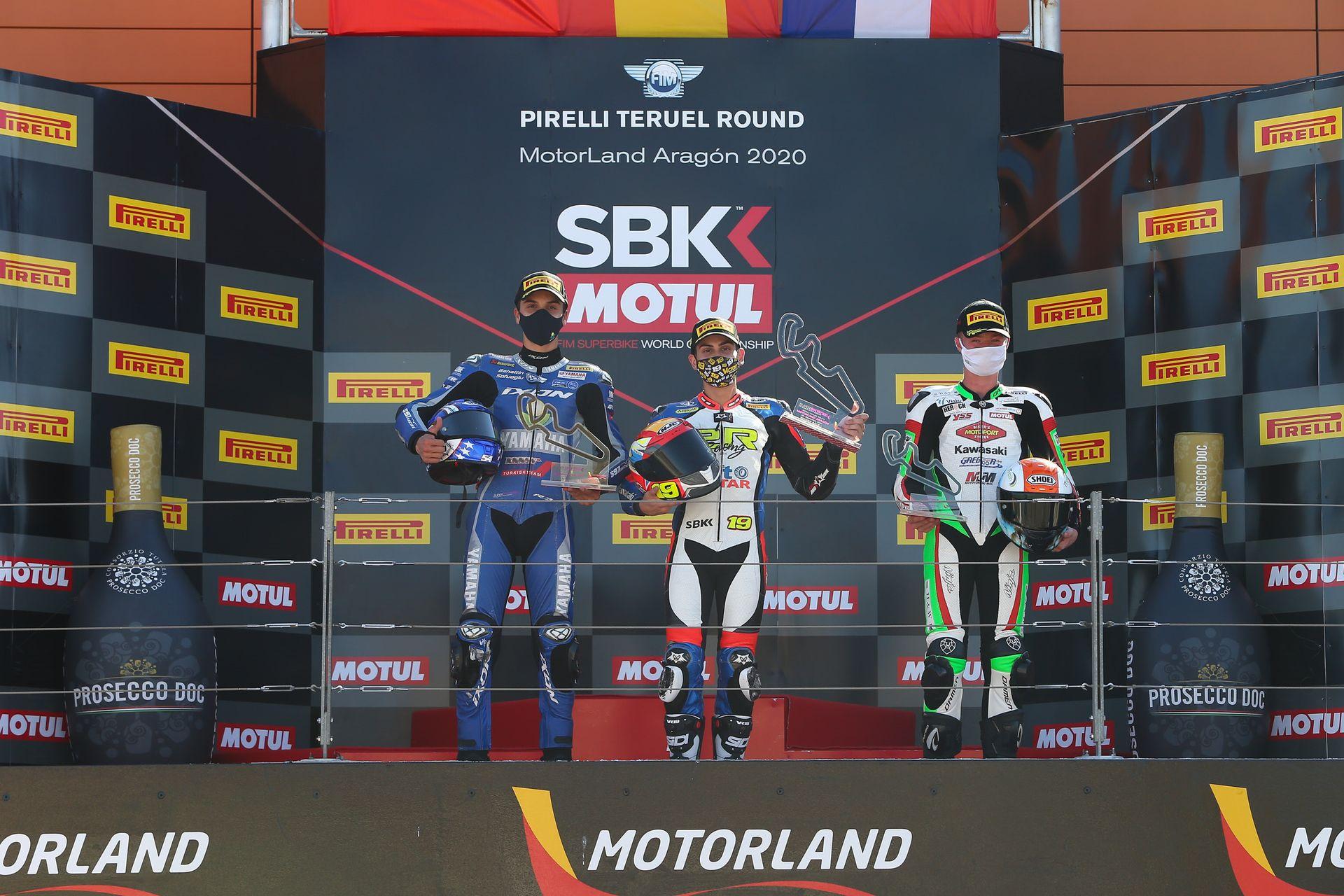 Víctor Rodríguez, descalificado de las cuatro carreras celebradas en Motorland Aragón