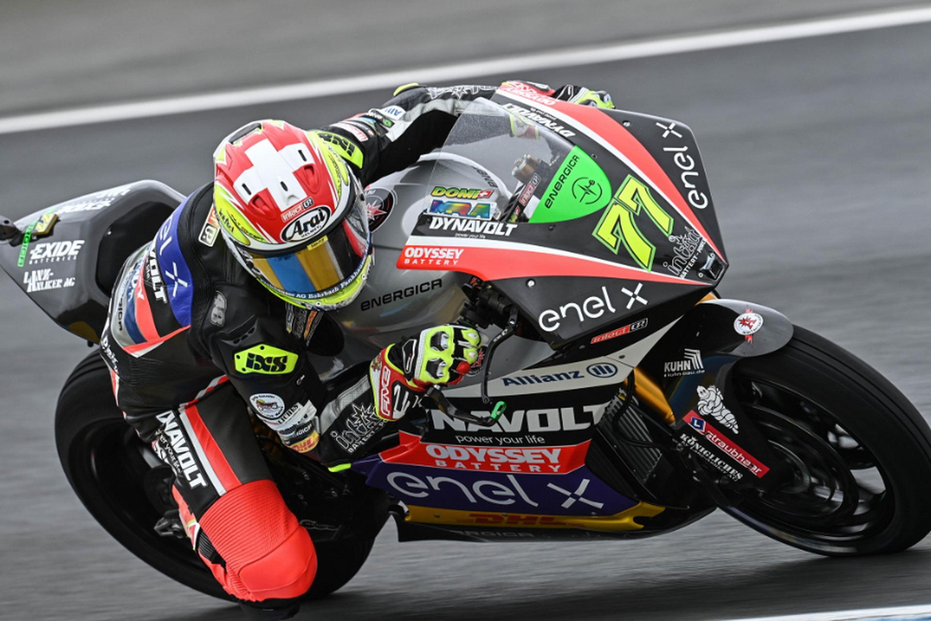 Dominique Aegerter en el FIM CEV Moto2