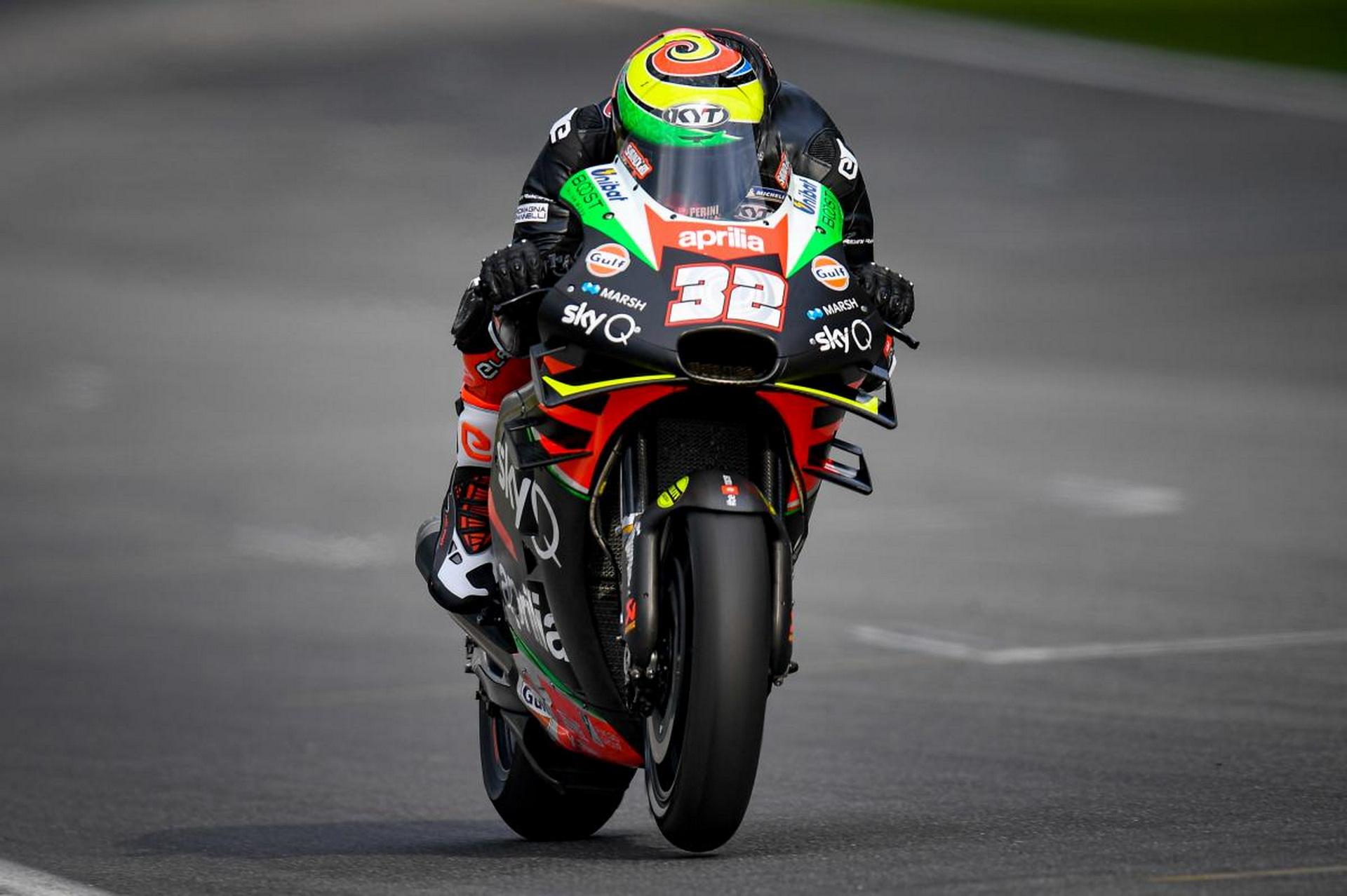 Savadori se une a MotoGP con Aprilia