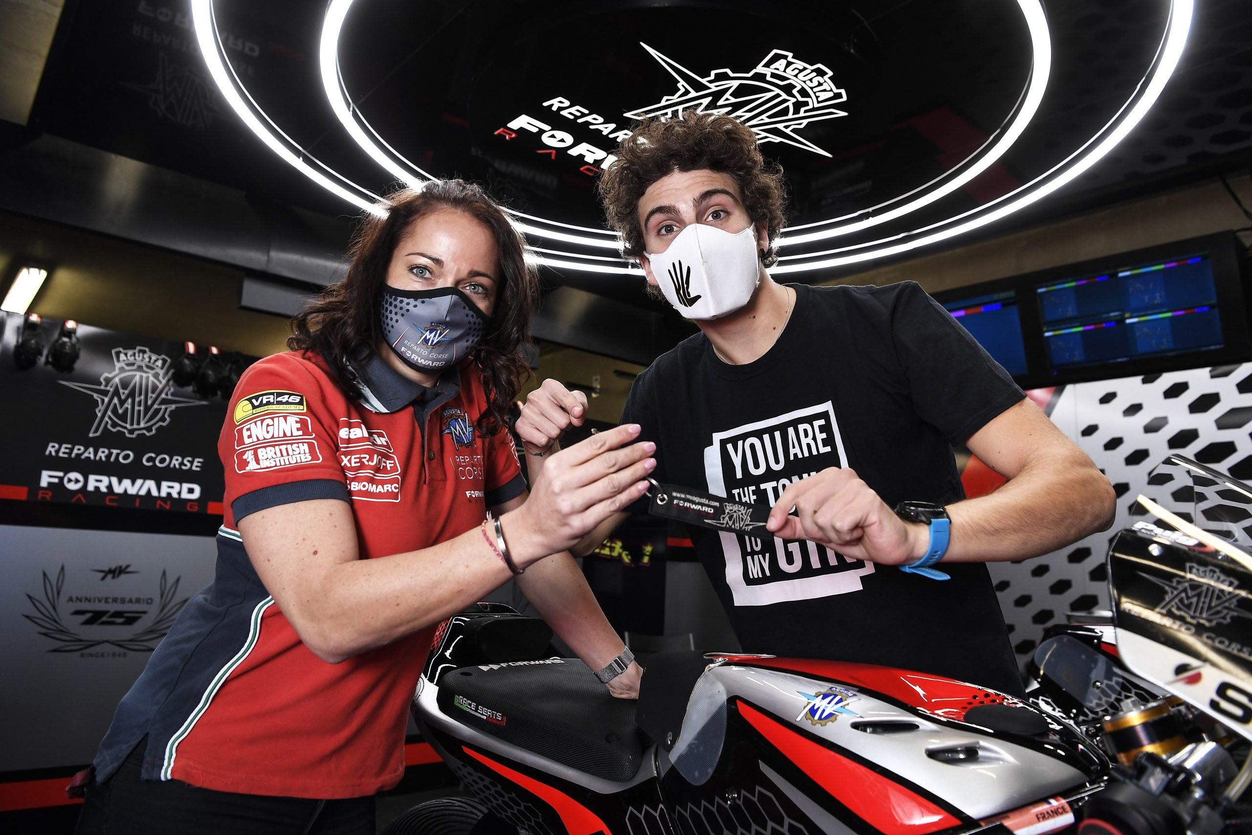Lorenzo Baldasarri, agónico final con Pons para llegar a MV Agusta