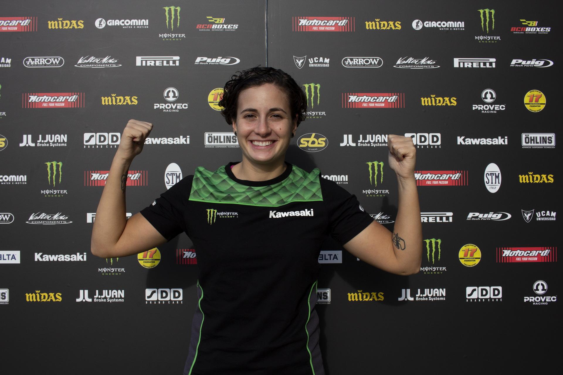 Ana Carrasco confirmada en el Provec Kawasaki para 2021