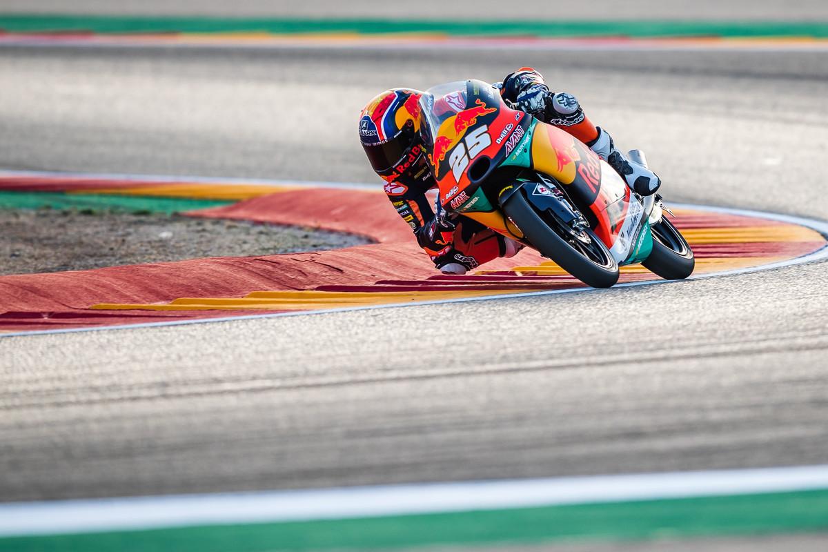 Raúl Fernández repite pole en el Gran Premio de Aragón