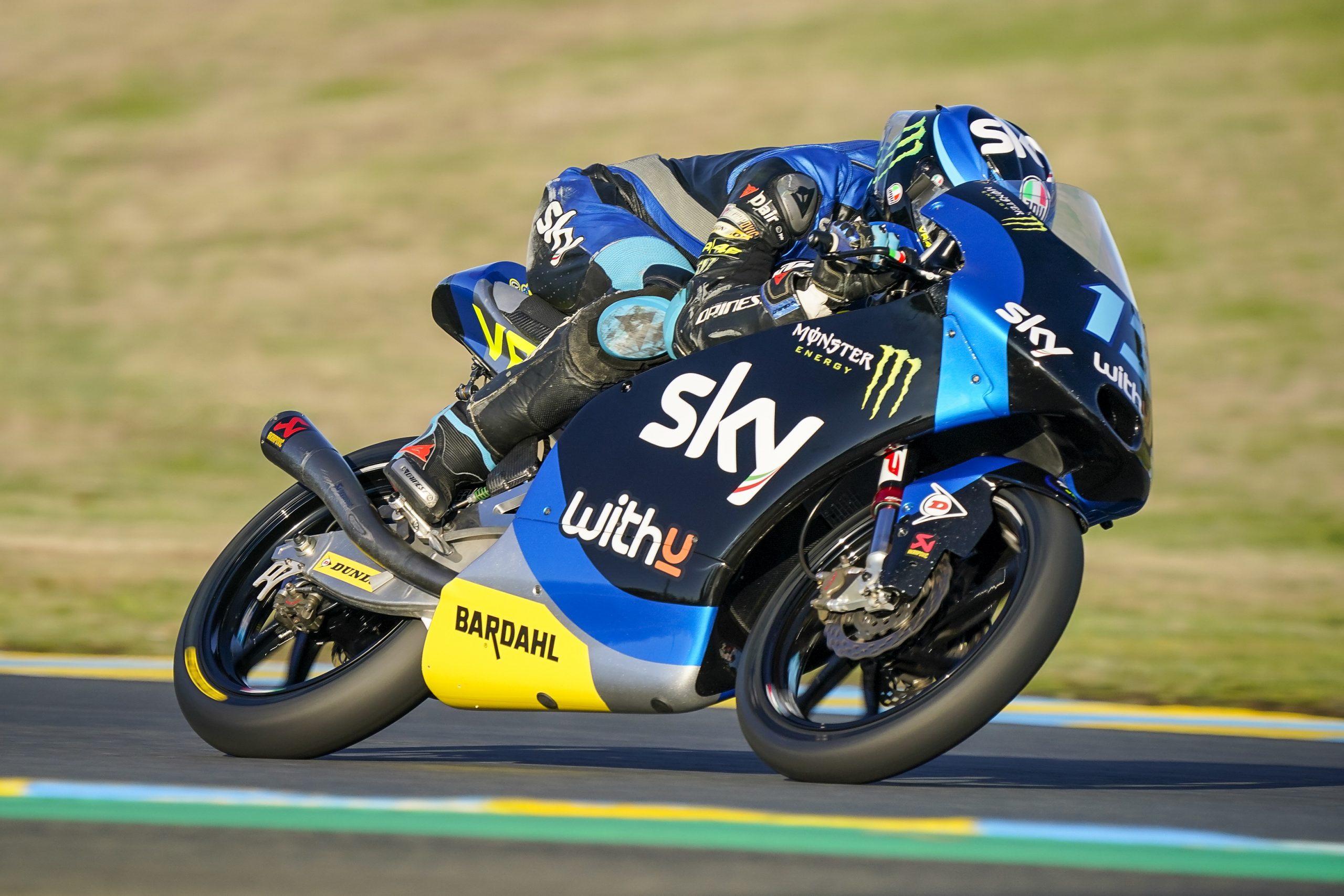 Celestino Vietti gana en Le Mans y Albert Arenas recupera el liderato