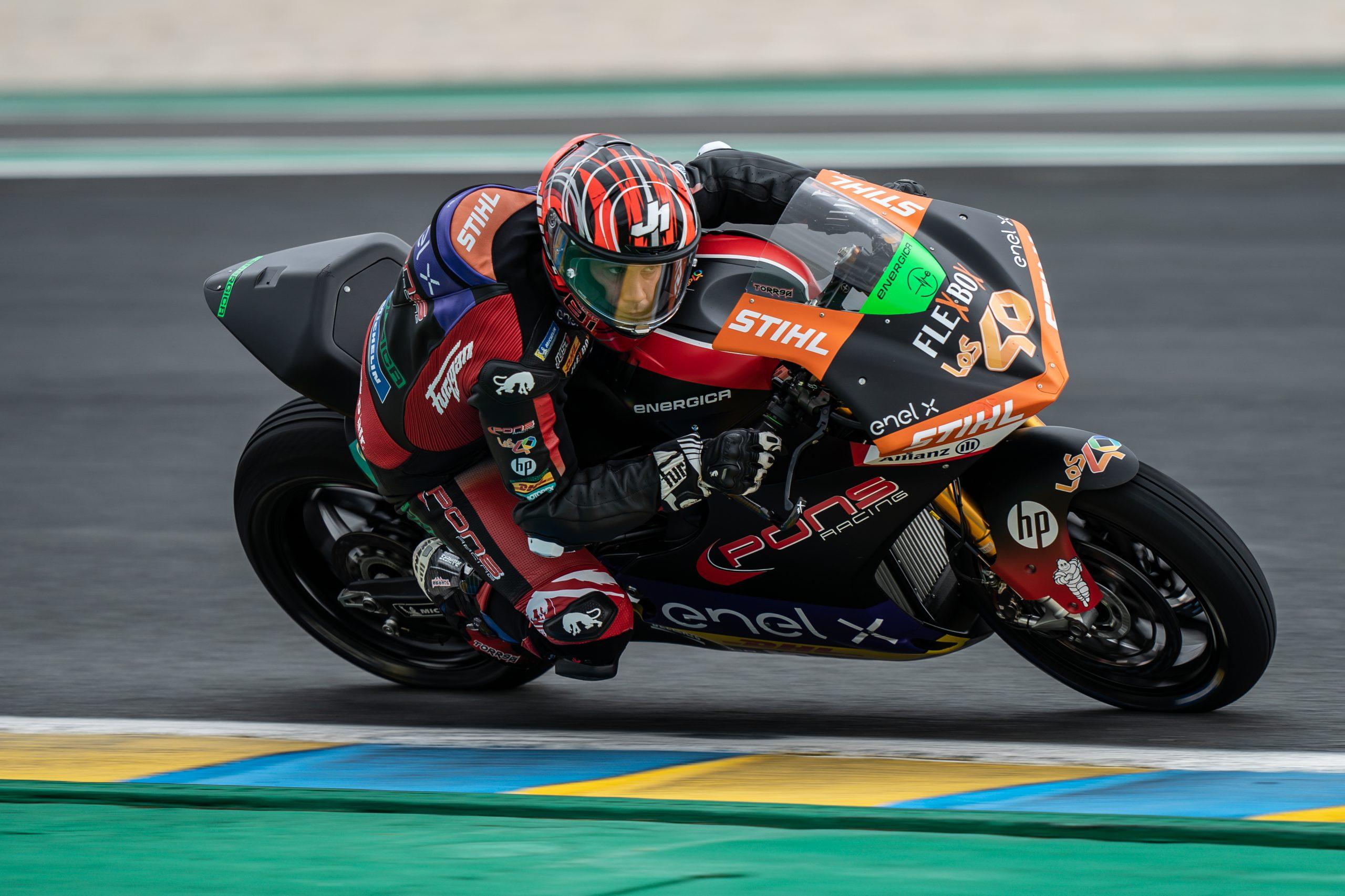Jordi Torres domina en MotoE y se queda a un paso del título