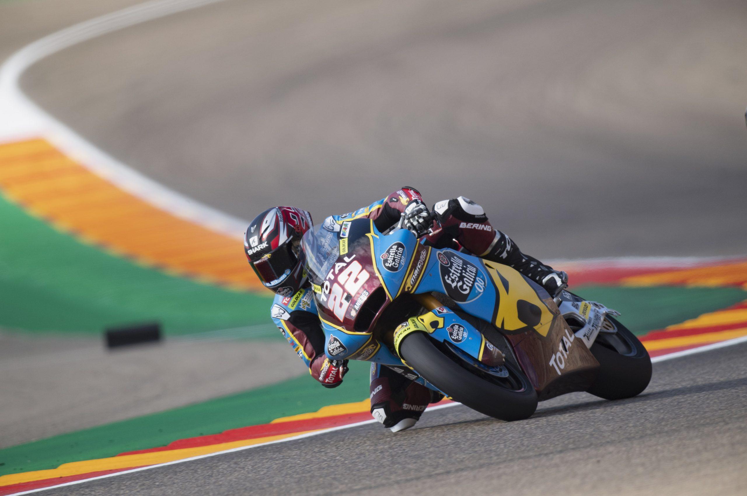 Sam Lowes pulveriza el récord de Motorland Aragón para llevarse la pole