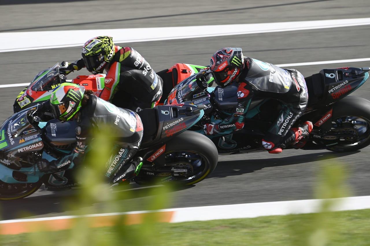 Fabio Quartararo hizo la carrera con el 'Starting Device' activado