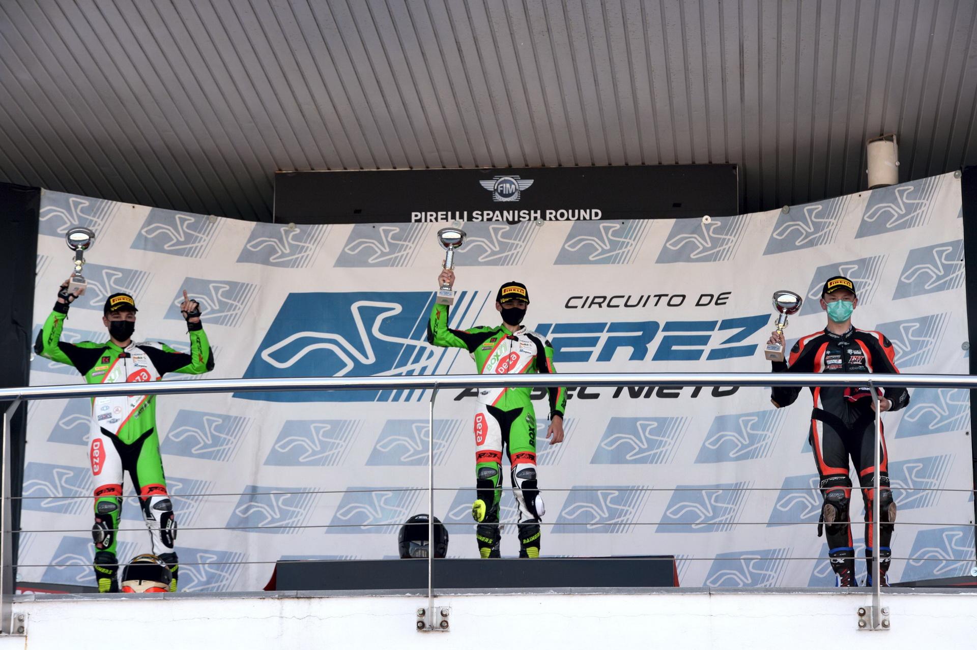El DEZA – ISMABON Racing Team Campeones Andaluces y Subcampeones por partida doble