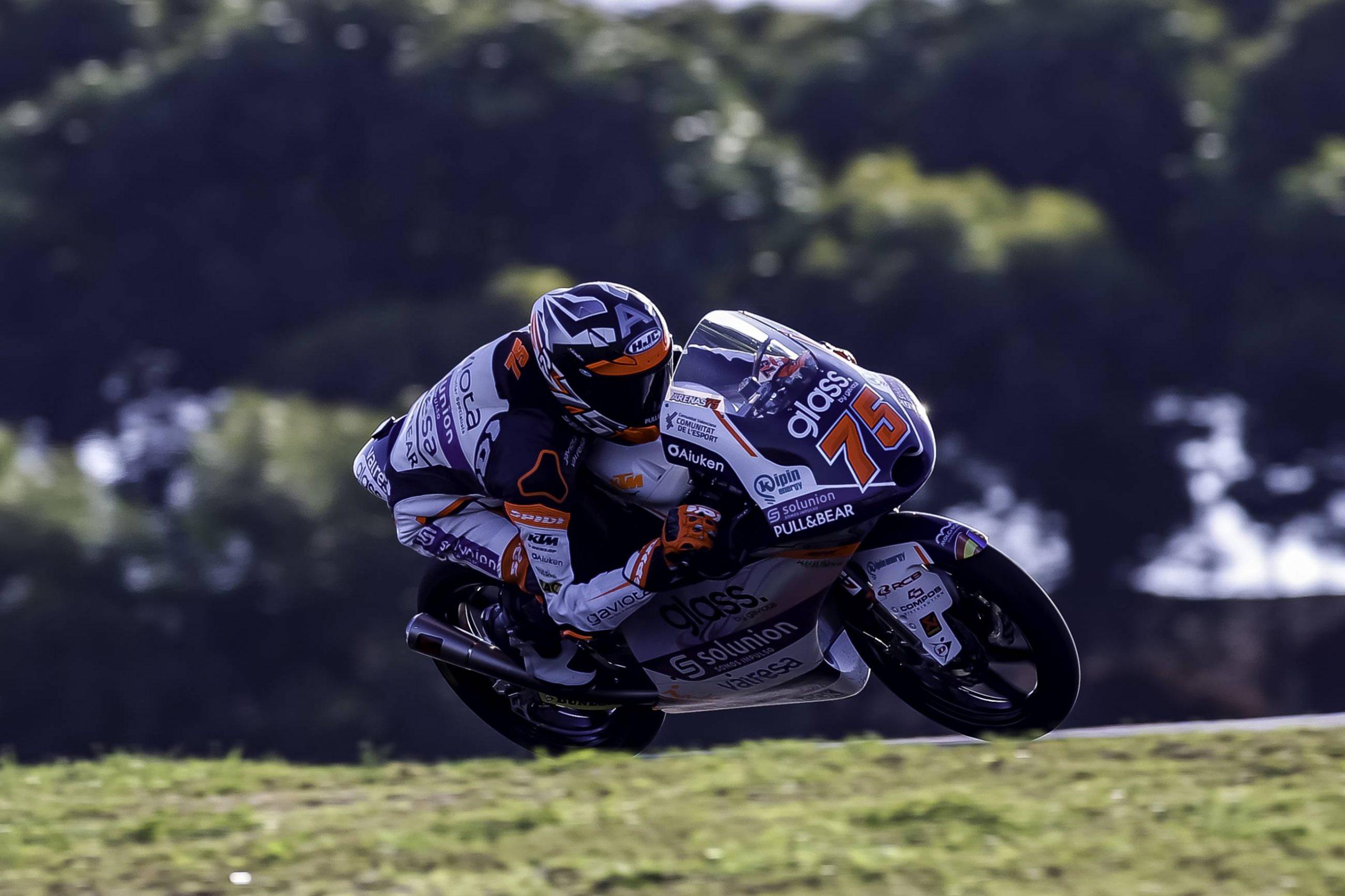 Albert Arenas se hace con el título tras una complicada carrera en Portugal