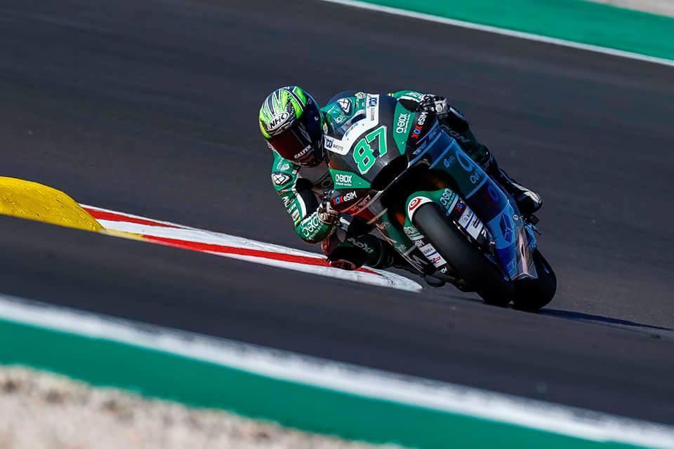 Remy Gardner se agencia la pole de Moto2 en Portugal