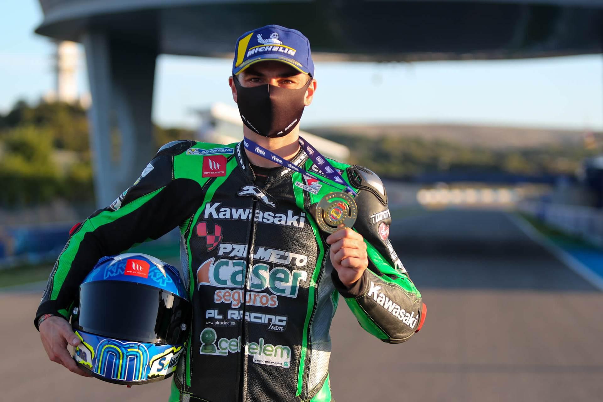 Román Ramos, Campeón de España de Superbike