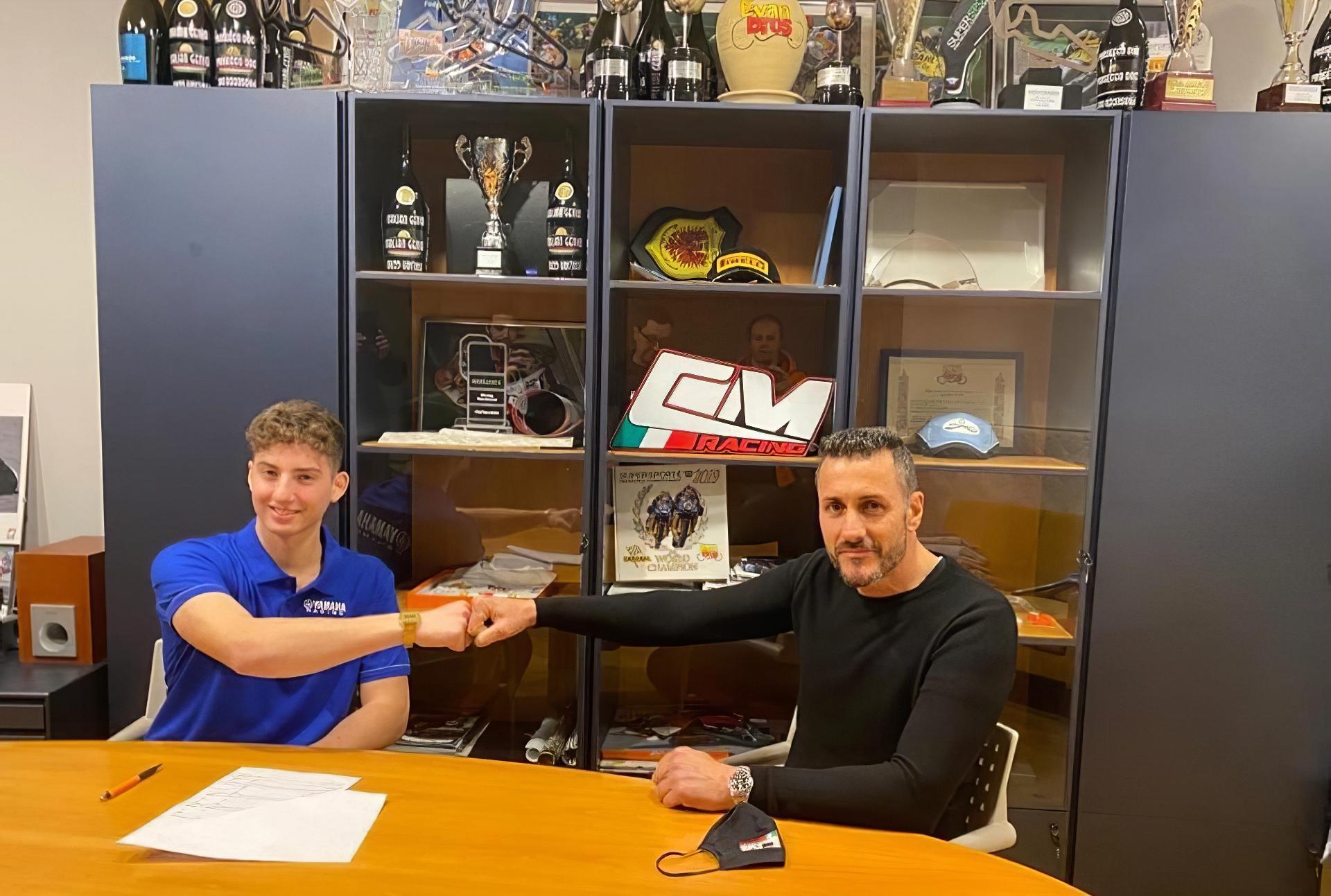 CM Racing Team y Luca Bernardi juntos en el WorldSSP