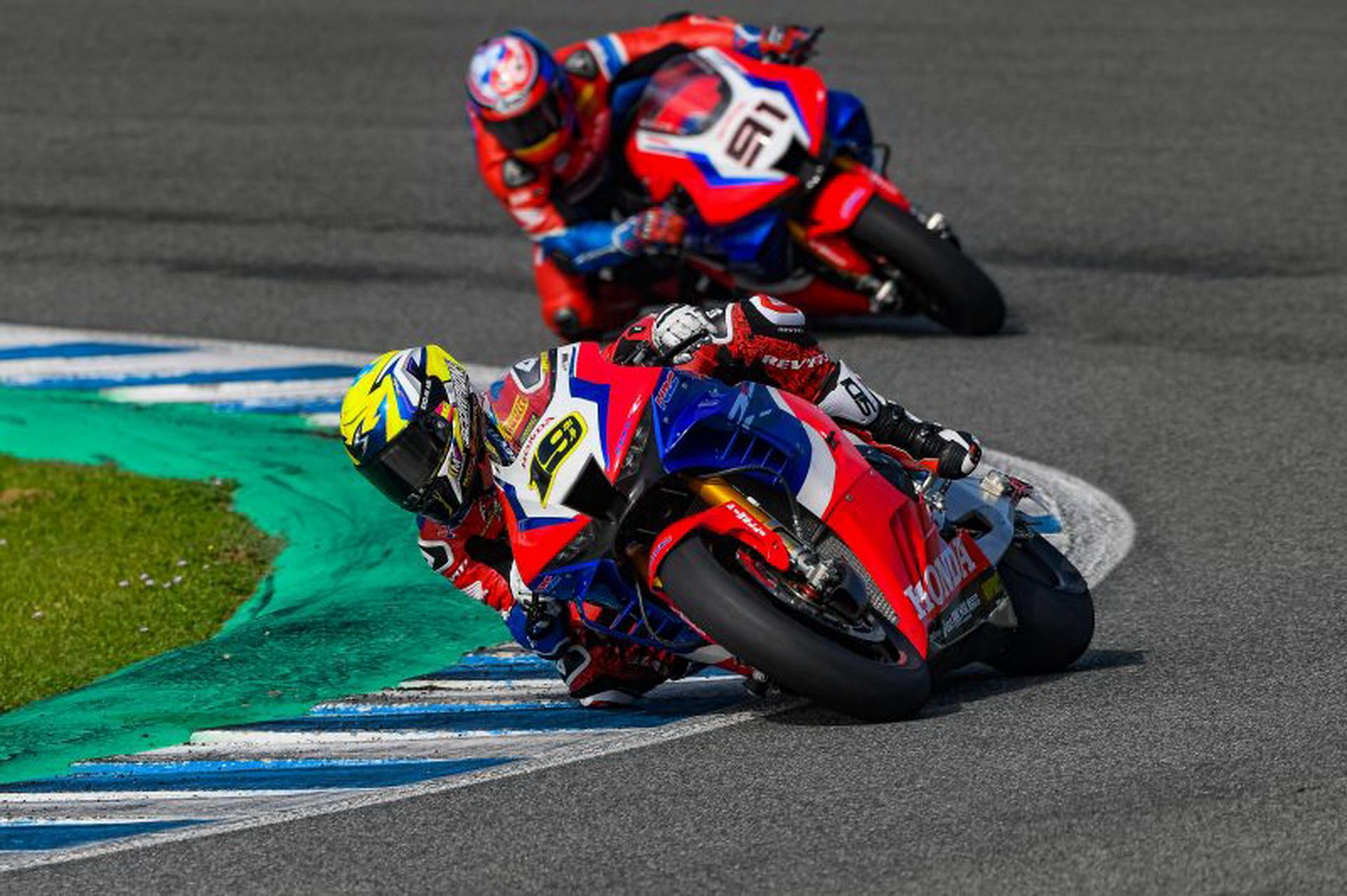 HRC prueba en Jerez – MotoGP y WorldSBK