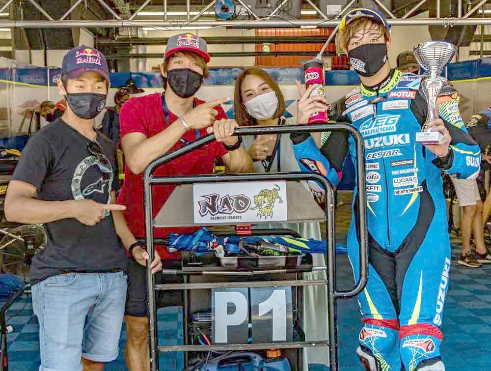 Naomichi Uramoto, un año más con JEG Racing y Suzuki en el ESBK
