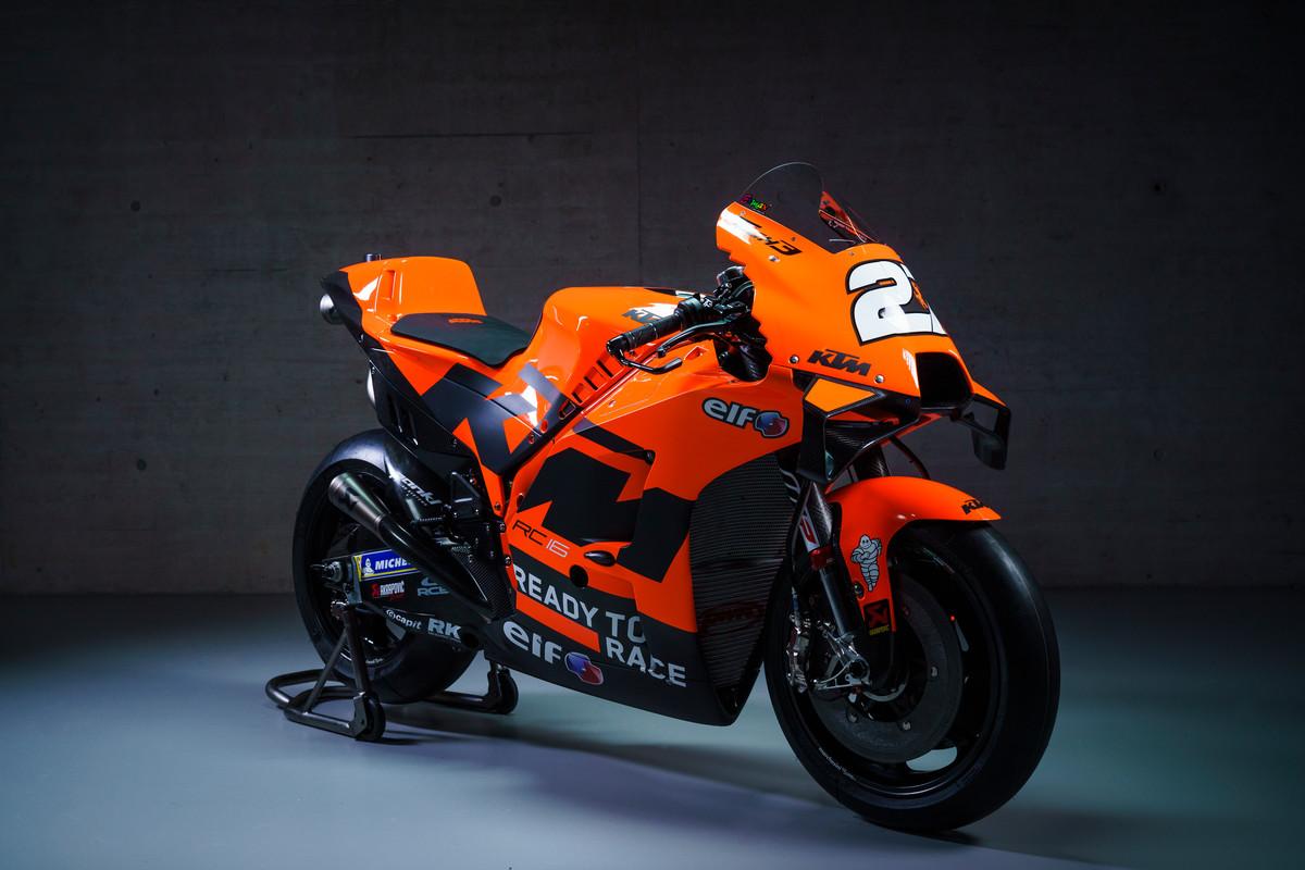 Presentación de KTM MotoGP: galería de fotos y vídeo