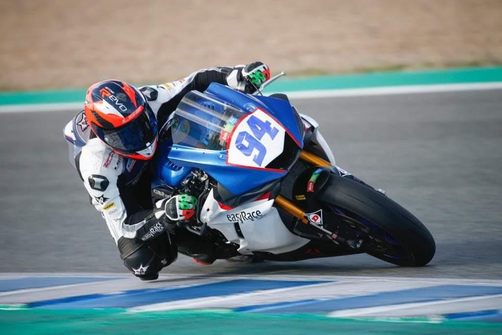 Andrés González disputará el ESBK 600cc con EasyRace