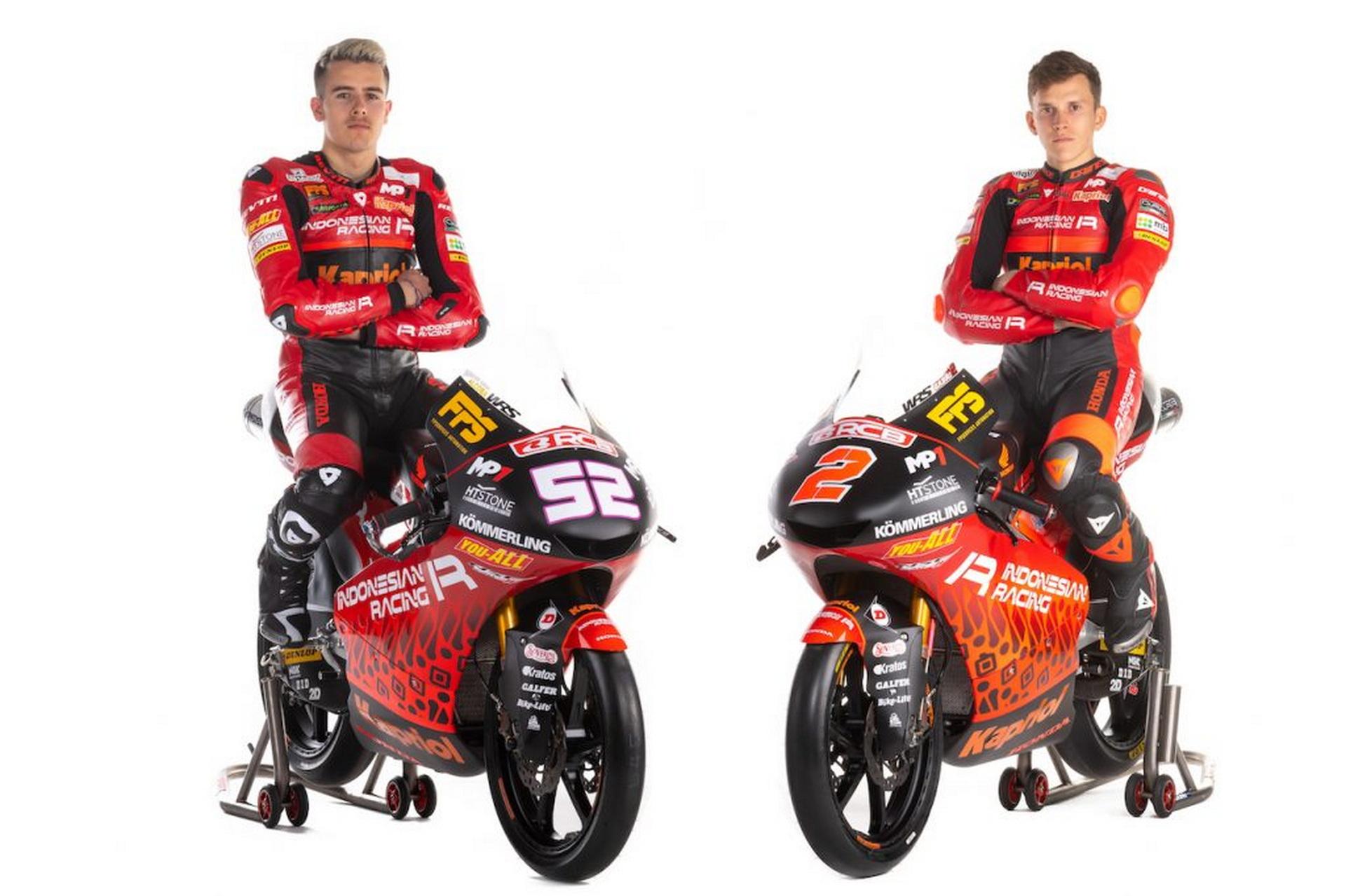 Presentado el Gresini Racing para Moto2 y Moto3