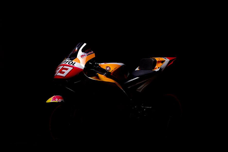 Galería del HRC Repsol Honda de 2021. La moto de Marc Márquez y Pol Espargaró