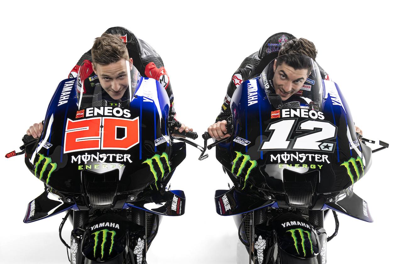 Presentación Yamaha Factory MotoGP: video y galería de imágenes