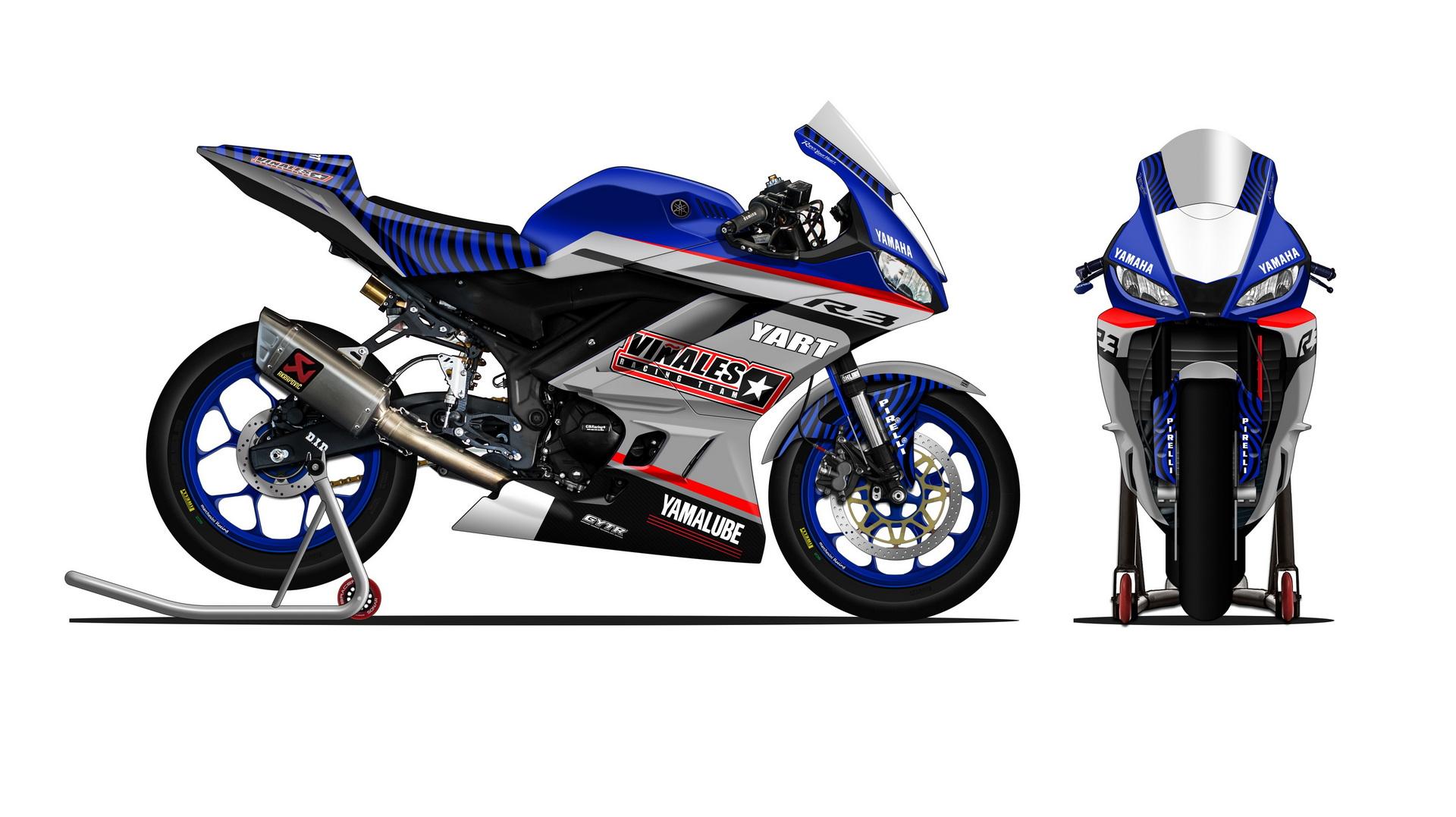Viñales Racing Team, equipo WorldSSP300 respaldado por Yamaha.