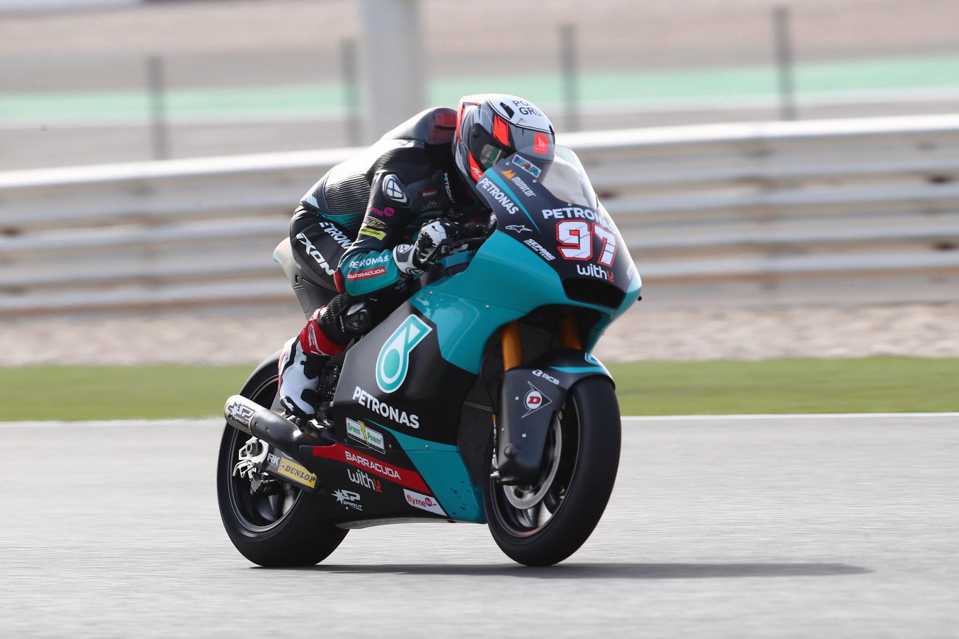 Moto2: Test de Qatar – 6 pilotos en 1 décima
