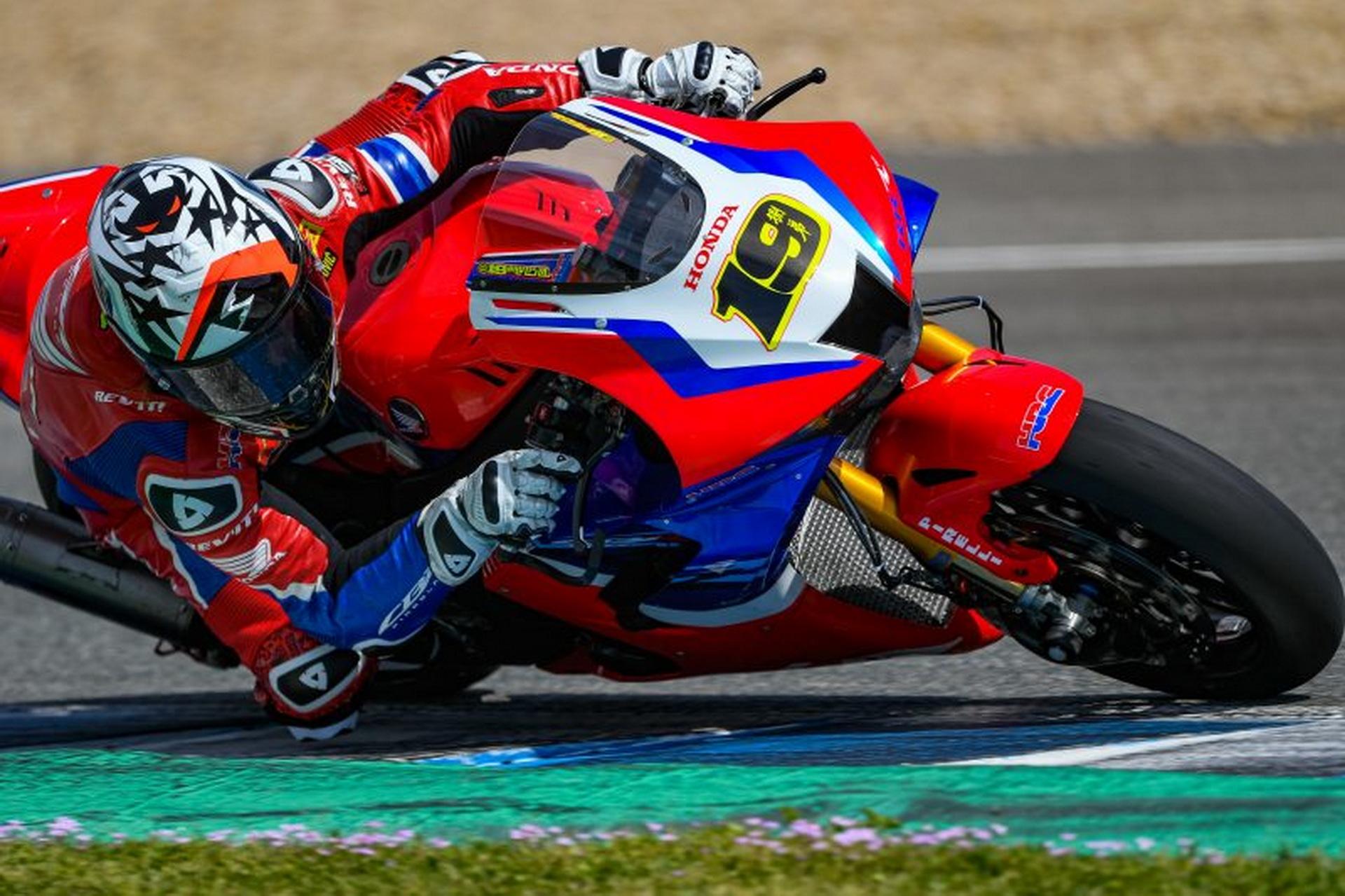 Fructífera sesión de pruebas para el Team HRC en condiciones ideales en Jerez