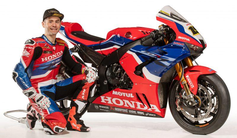 El equipo Honda de Superbikes de Álvaro Bautista se presenta