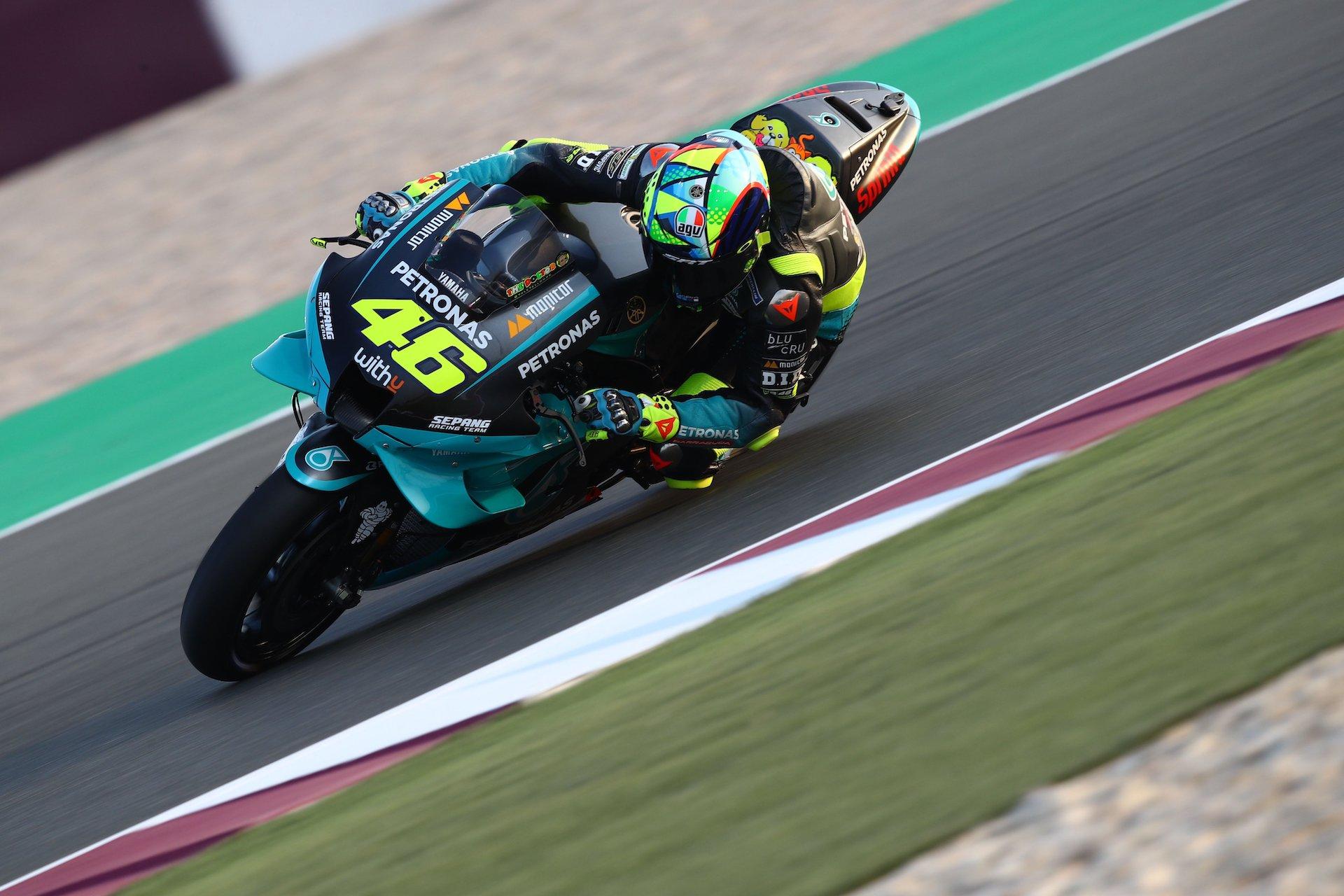 """Rossi: """"He hecho mi mejor crono de siempre en Catar"""""""